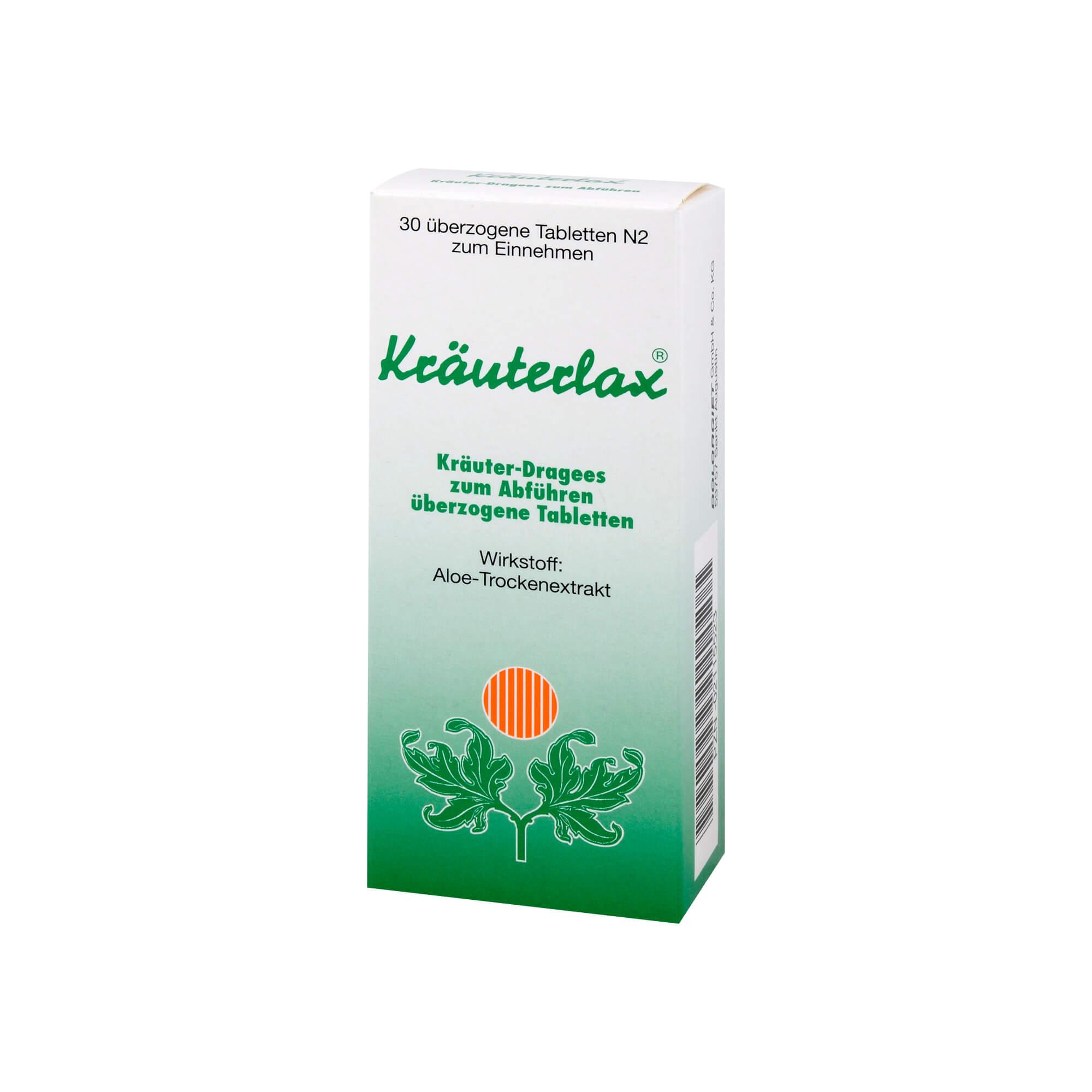 Kräuterlax Dr. Henk 15 mg Kräuterdragees