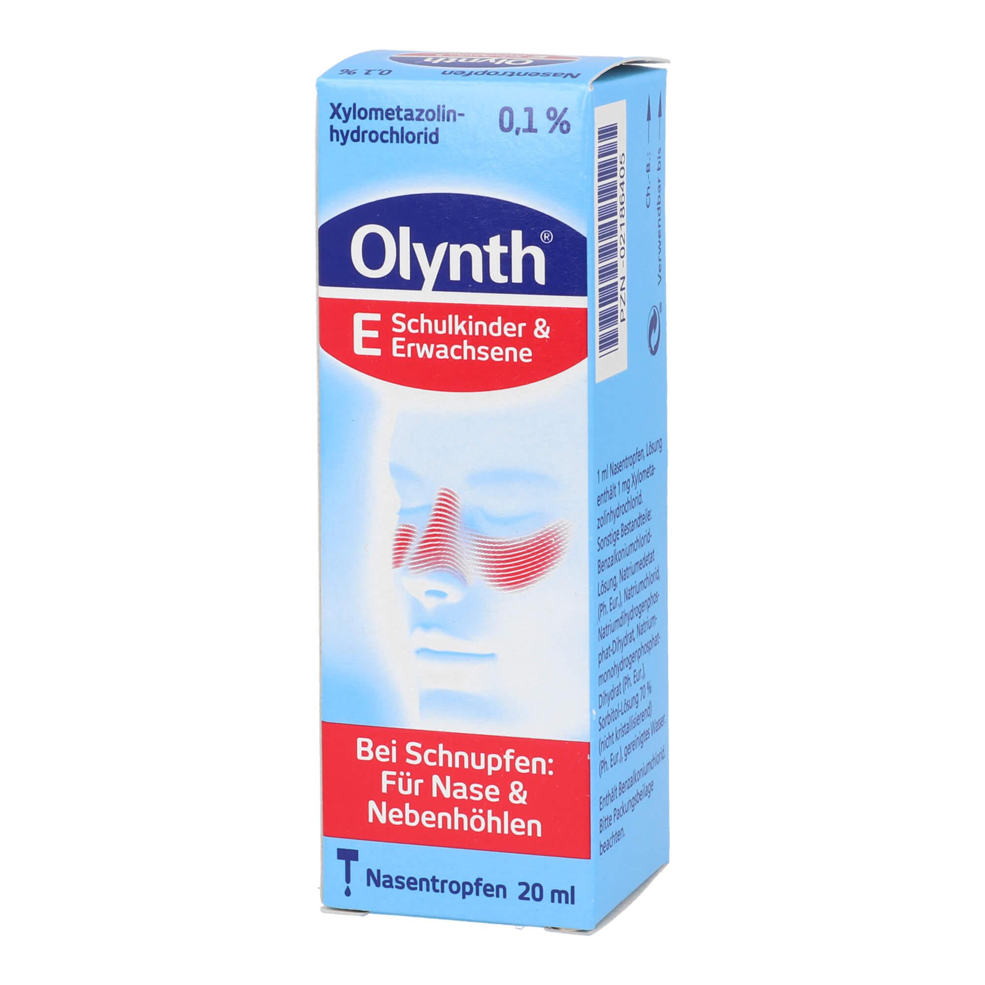 Olynth 0,1 % Schnupfen Lösung