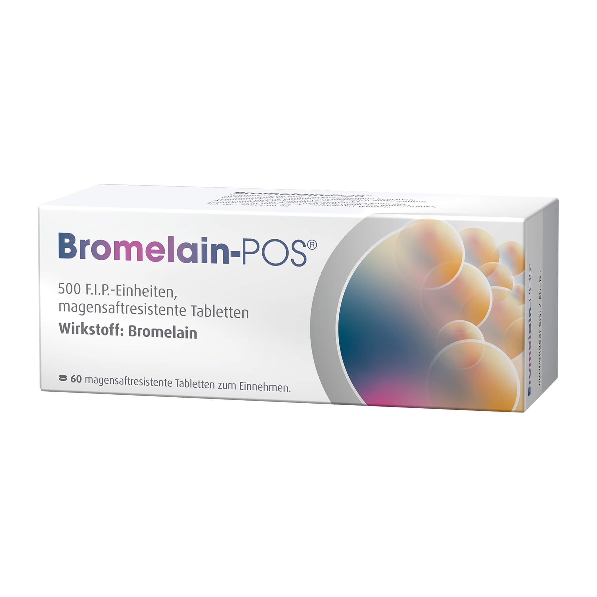Bromelain-POS 500 F.I.P.-Einheiten