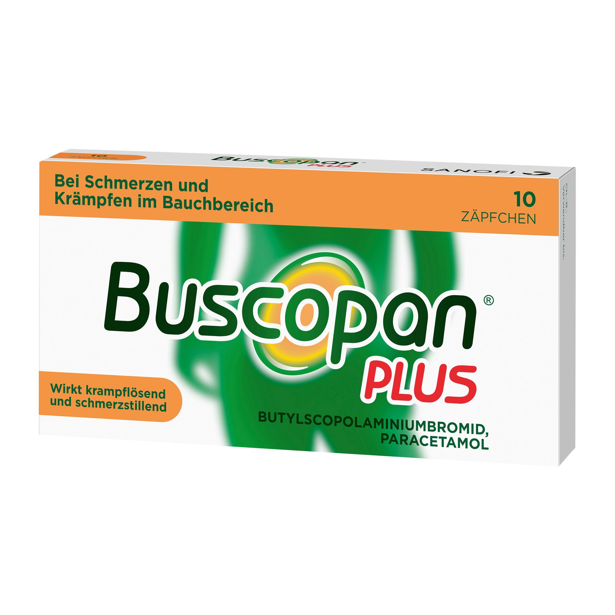Buscopan plus Zäpfchen