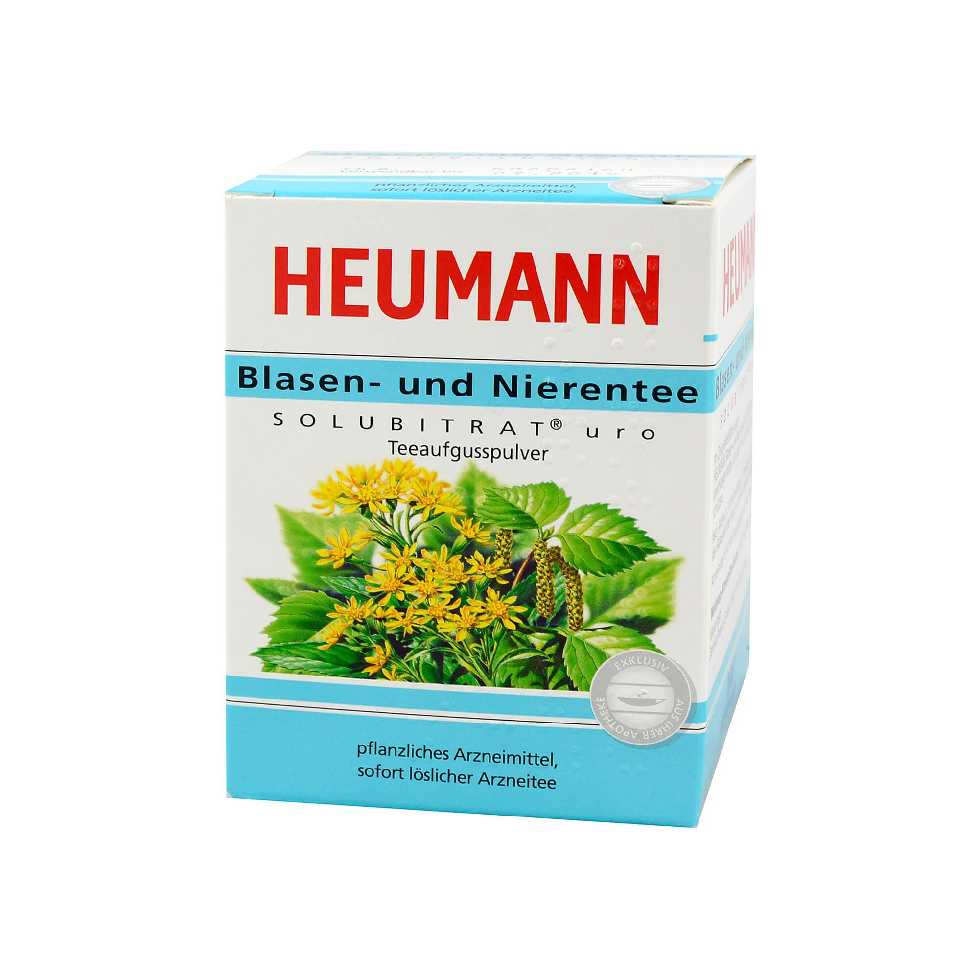 Heumann Blasen + Nieren Solubitrat Uro