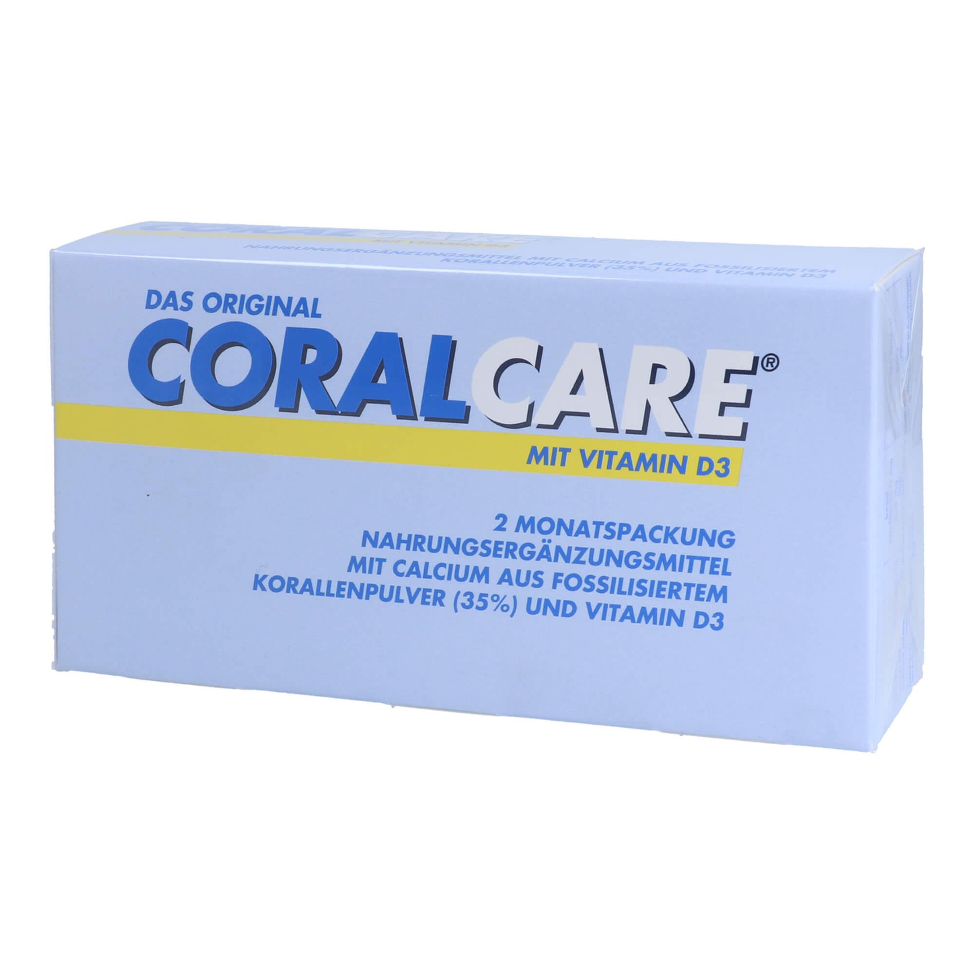 CoralCare 2-Monatspackung