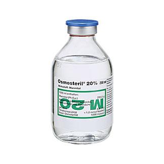 Osmosteril 20 % Glasflasche