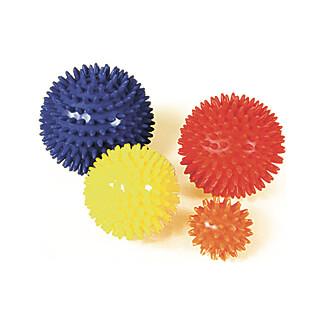 Massage-Igelball 9 cm Rot
