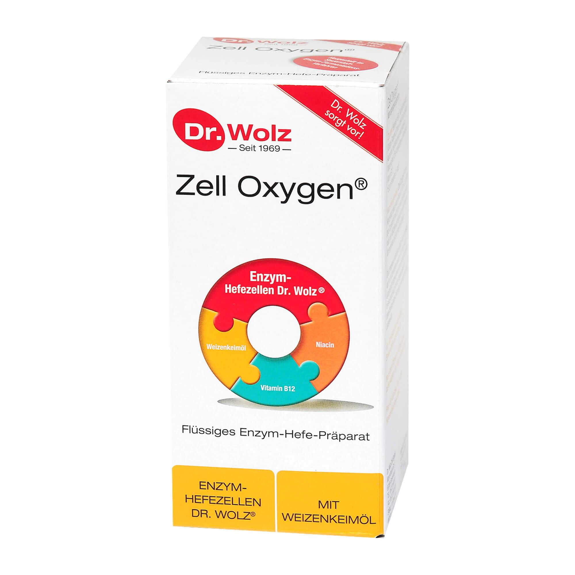 Zell Oxygen flüssig