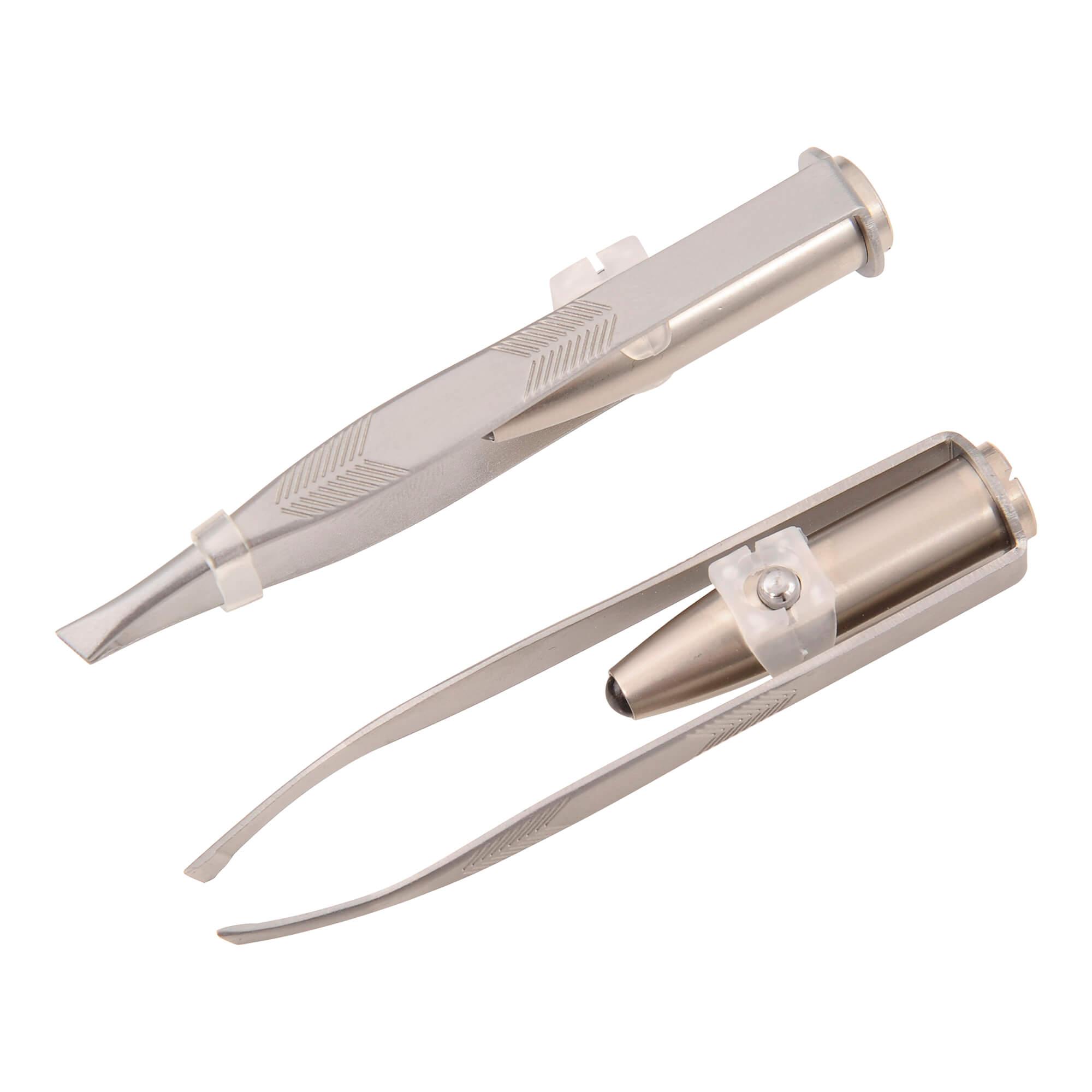 Nippes Pinzette mit LED-Licht Nr. 767 E