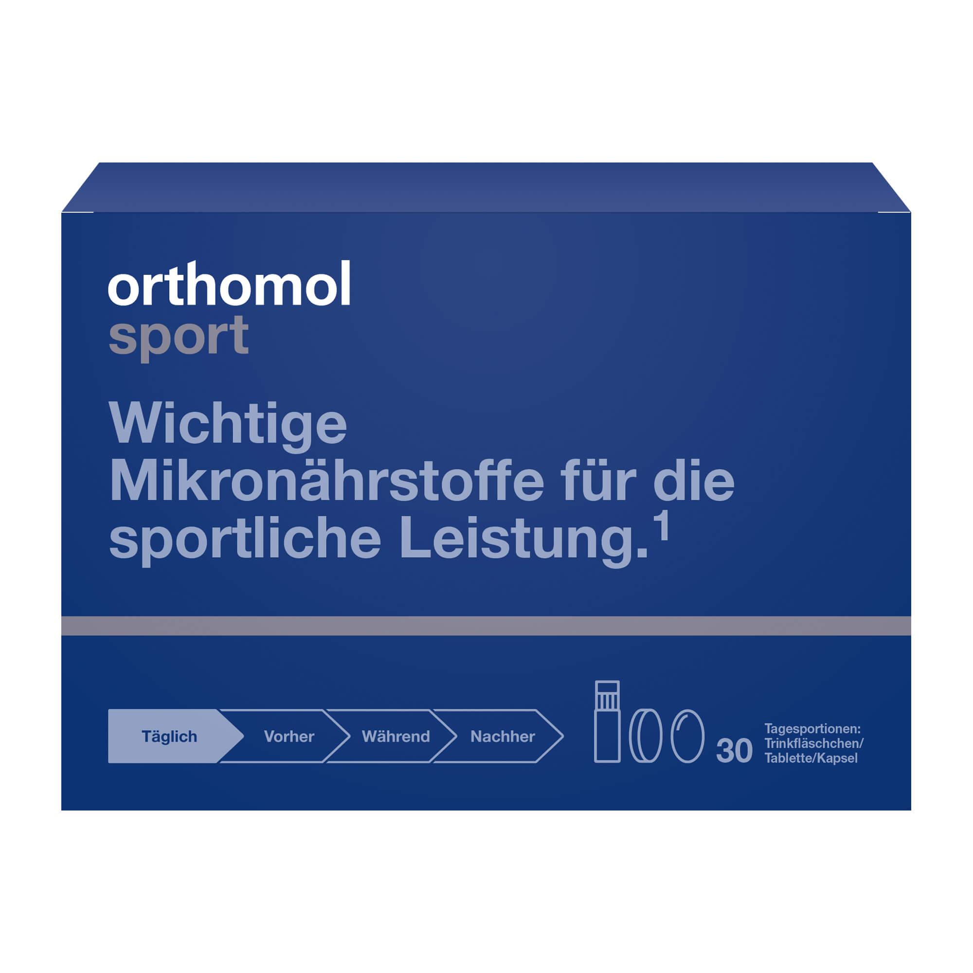 Orthomol Sport Trinkfläschchen