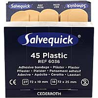 Salvequick Pflasterstips wasserfest Refill 6036