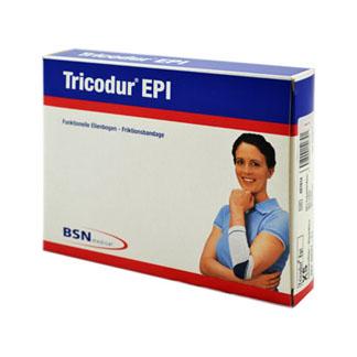 Tricodur Epi Bandage Größe XS Schwarz Blau
