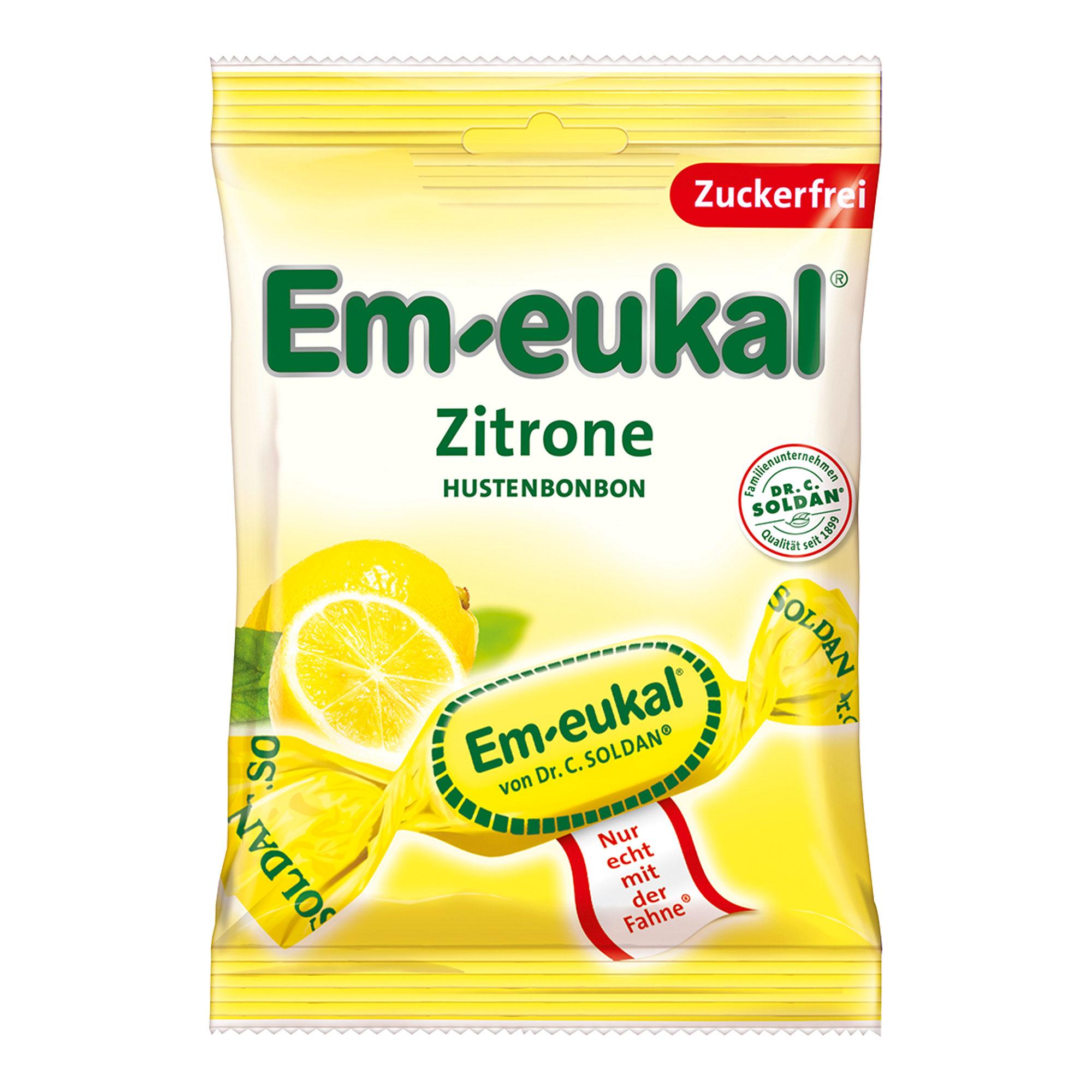 Em-eukal Zitrone zuckerfrei