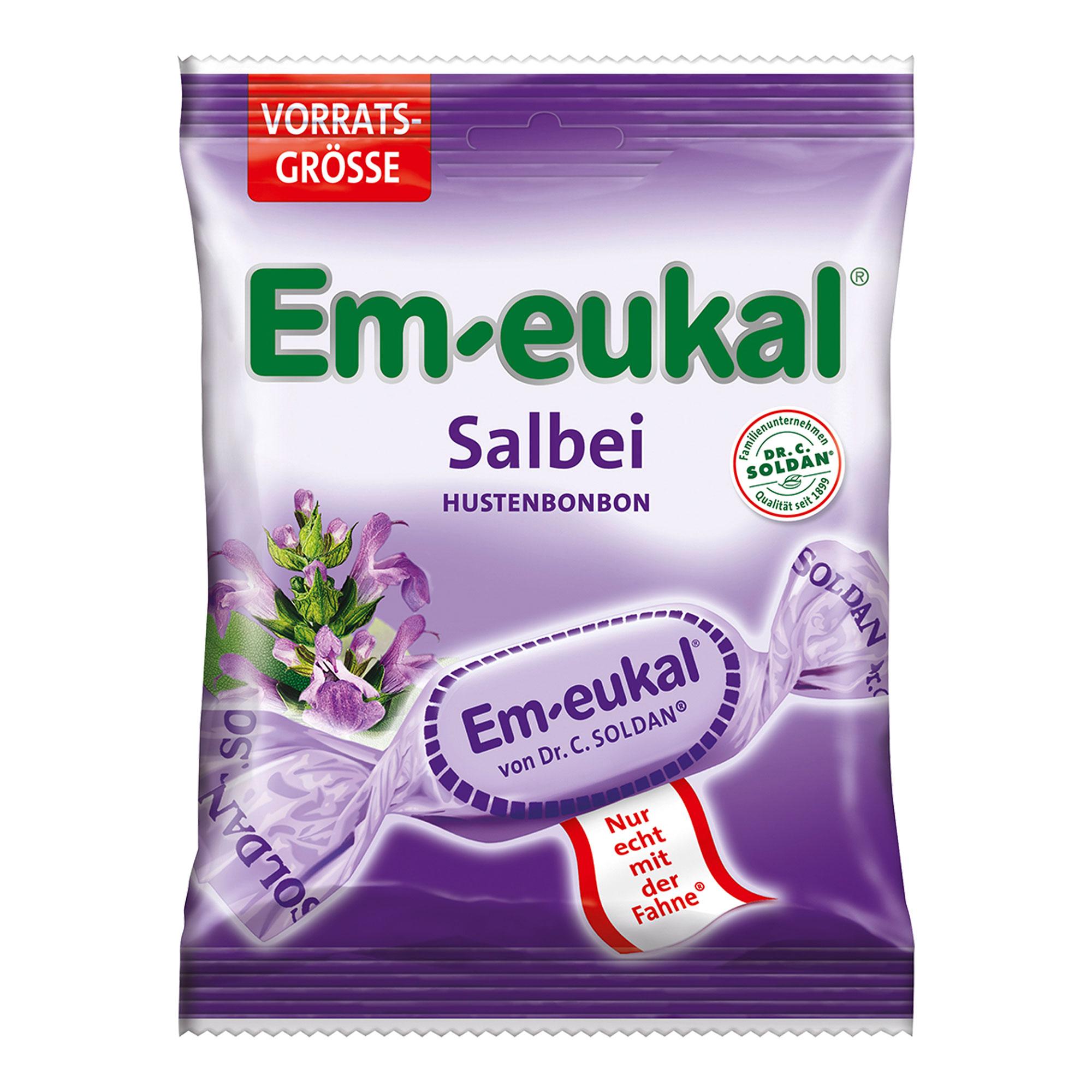 Em Eukal Bonbons Salbei zuckerhaltig