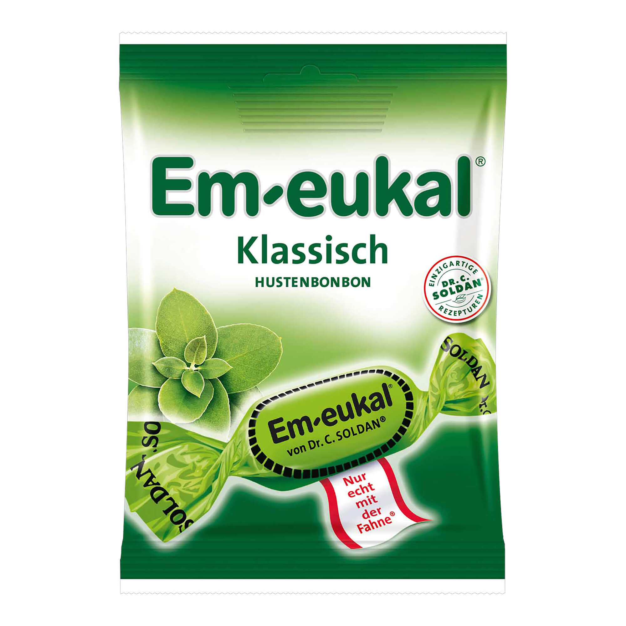 Em Eukal Hustenbonbons zuckerhaltig