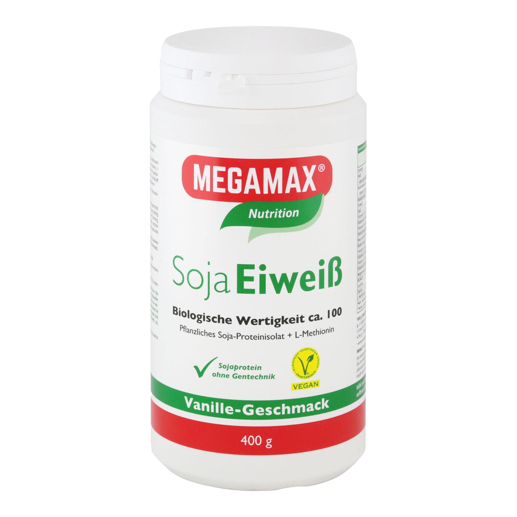 MegaMax Soja Eiweiß Vanille