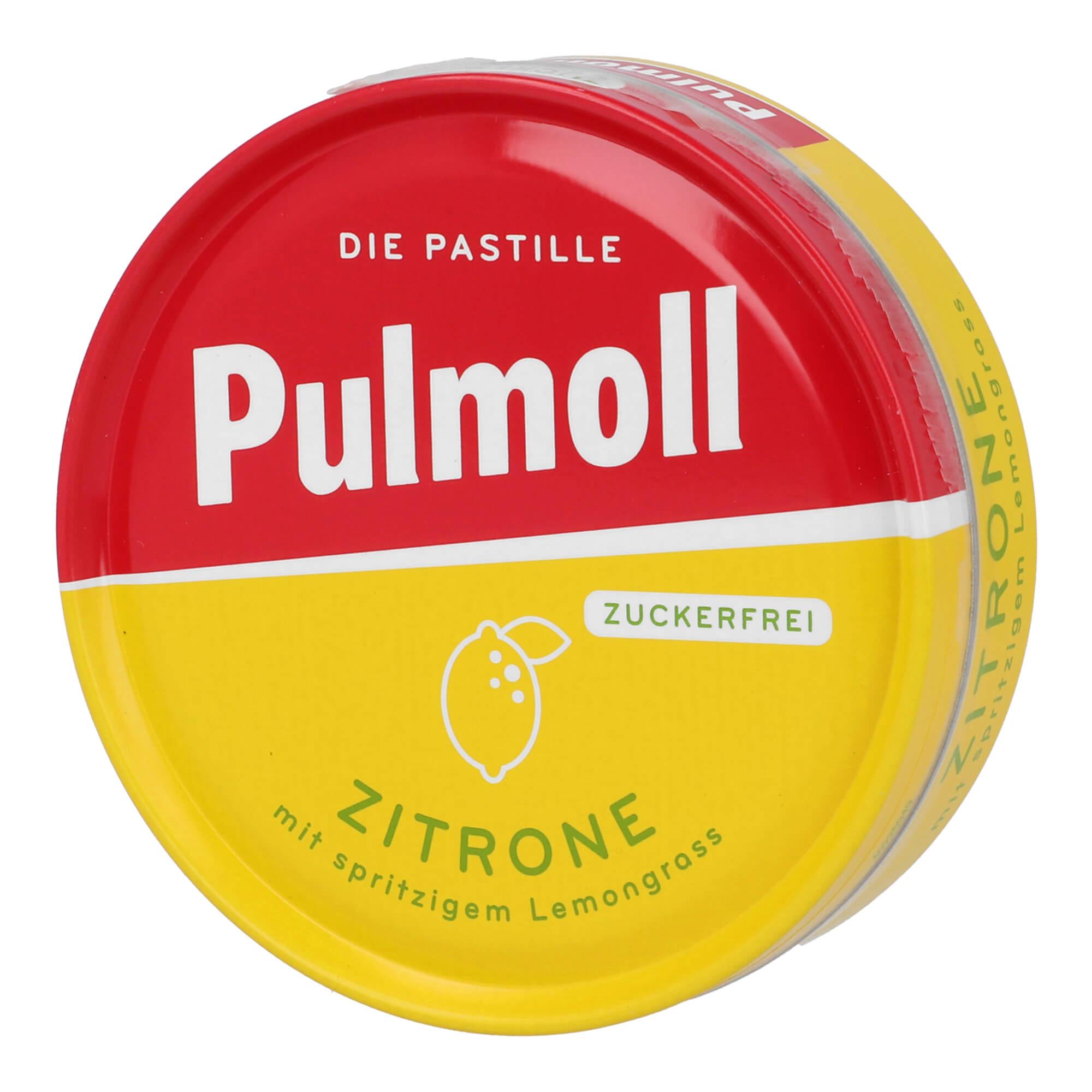 Pulmoll Hustenbonbons Zitrone