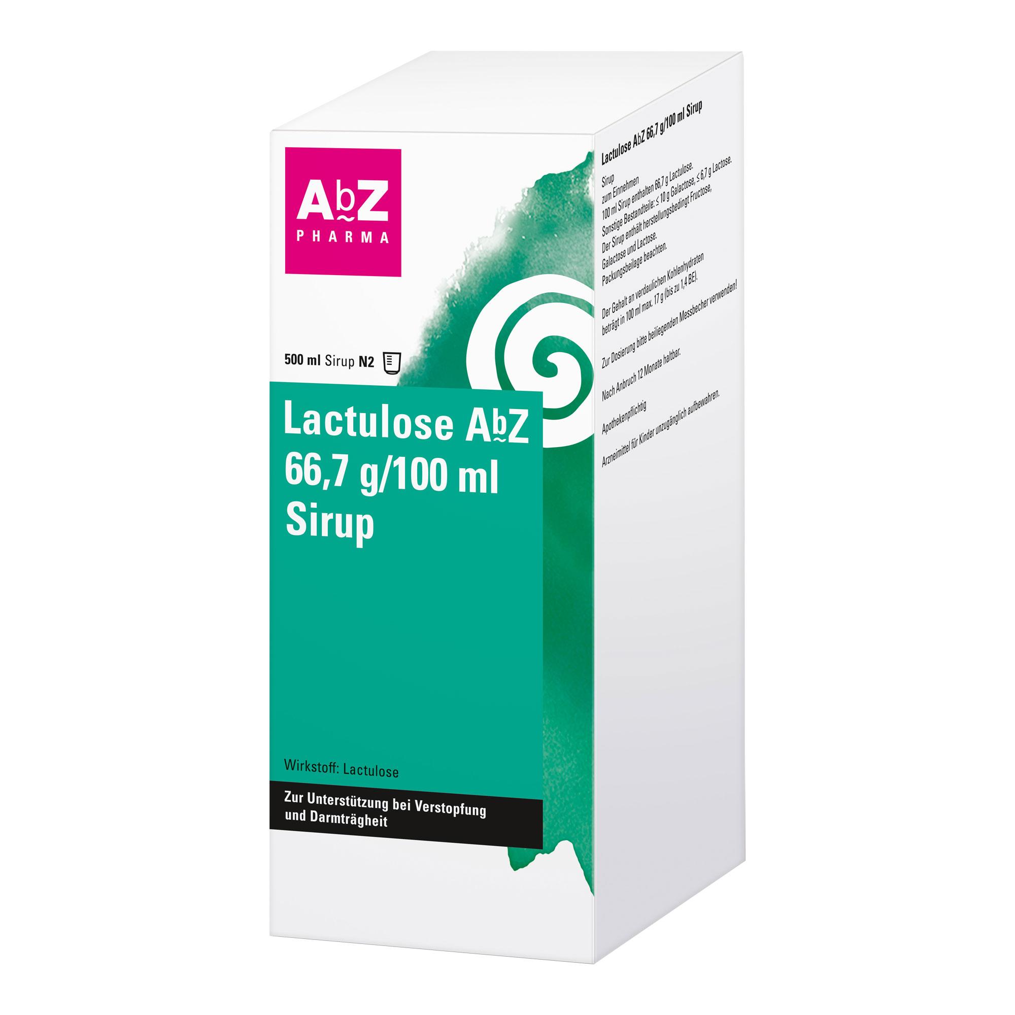 LACTULOSE ABZ 66.7G/100ML