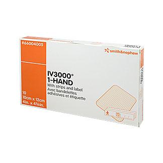 Opsite Iv3000 10x12cm Transparente Kanülenfixierpflaster