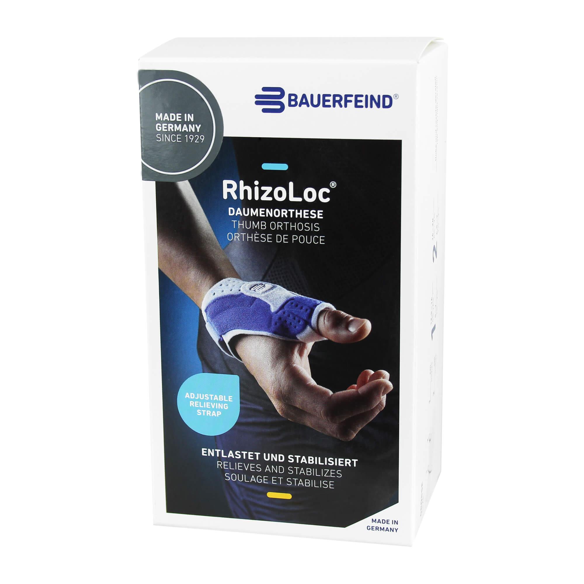 RhizoLoc links Größe 2 titan