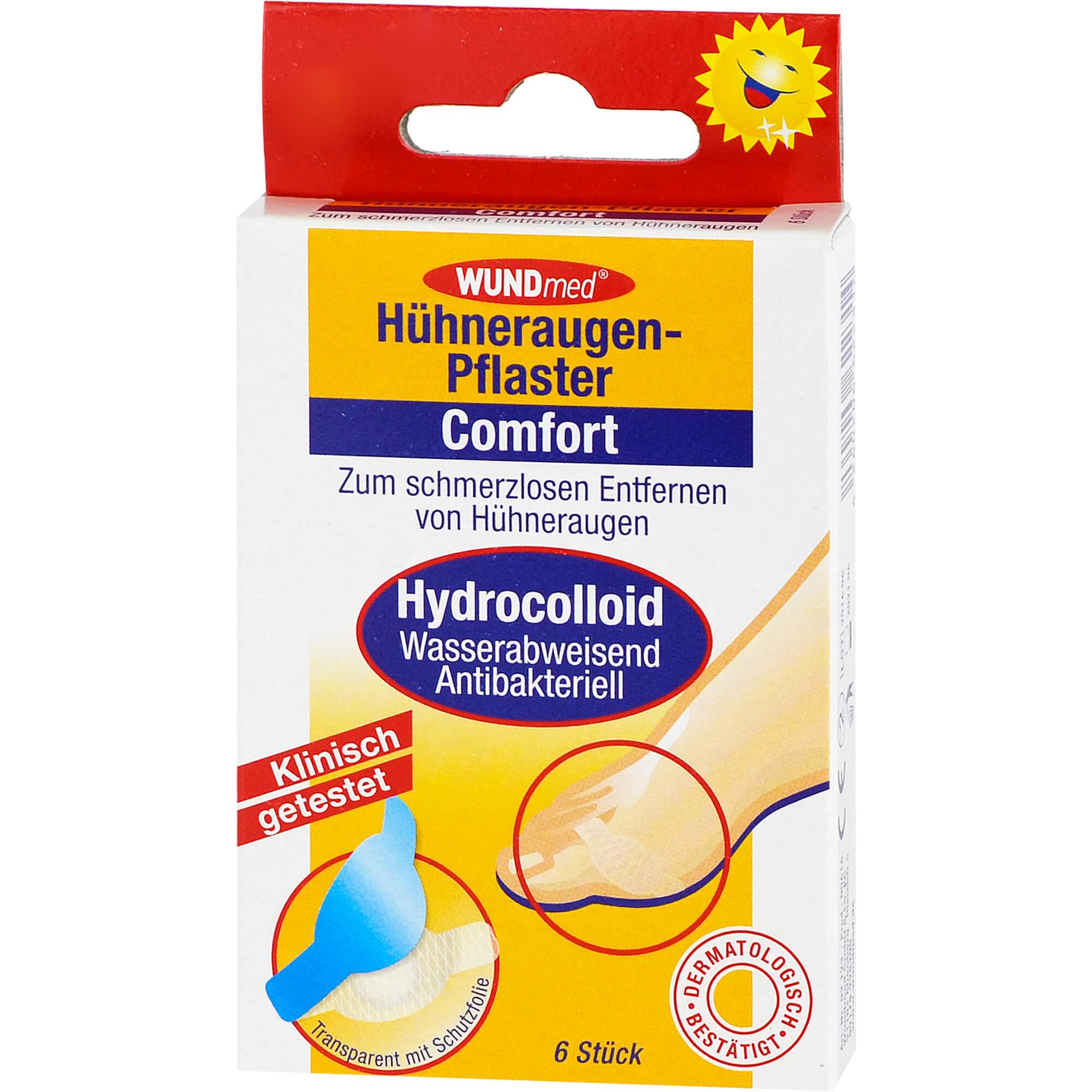 Hühneraugenpflaster Comfort hydrocolloid