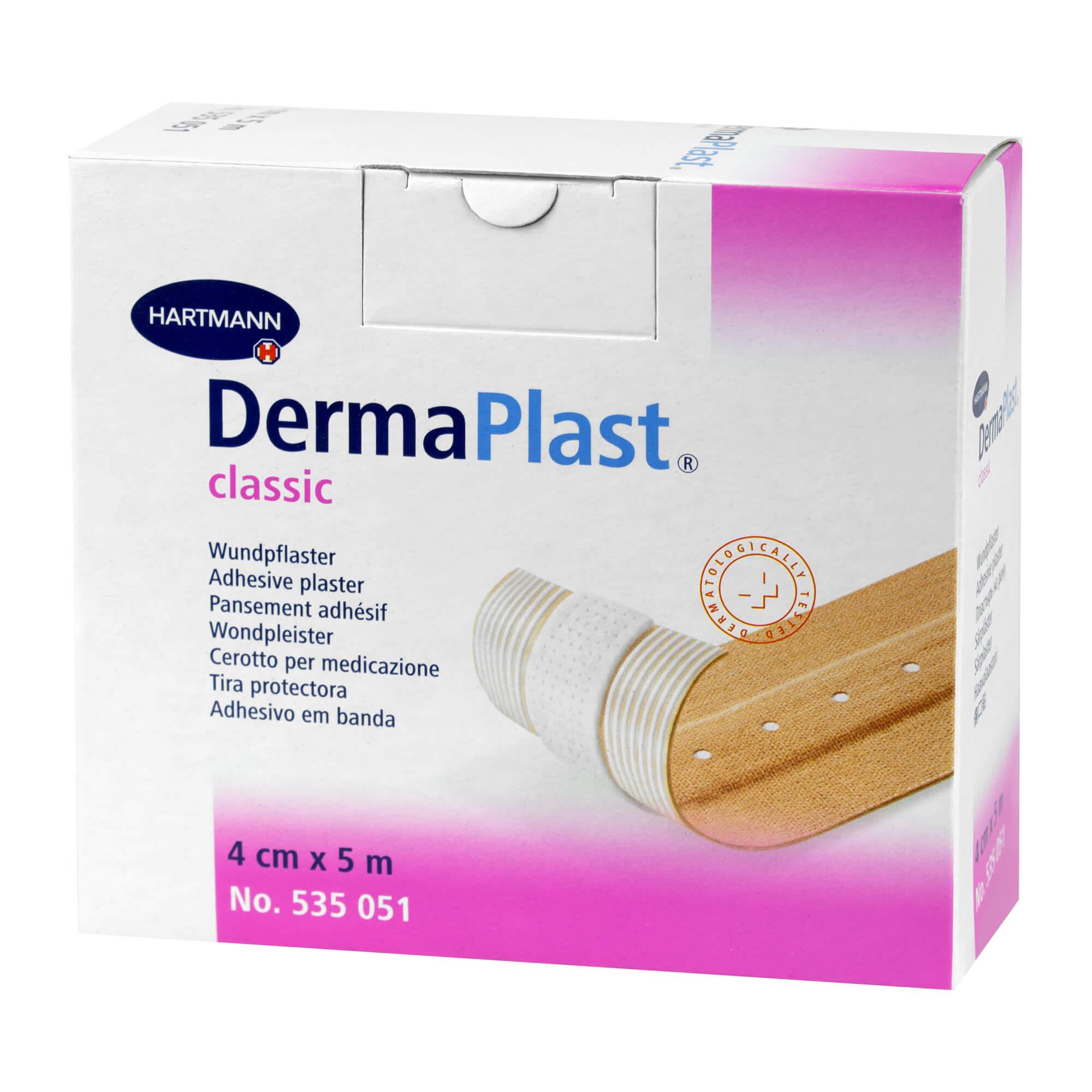 Dermaplast Classic Pflaster 4 cmx5 m
