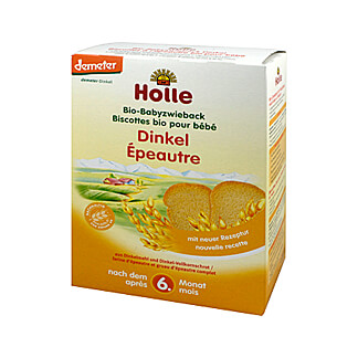 Holle Bio Baby Dinkel Zwieback
