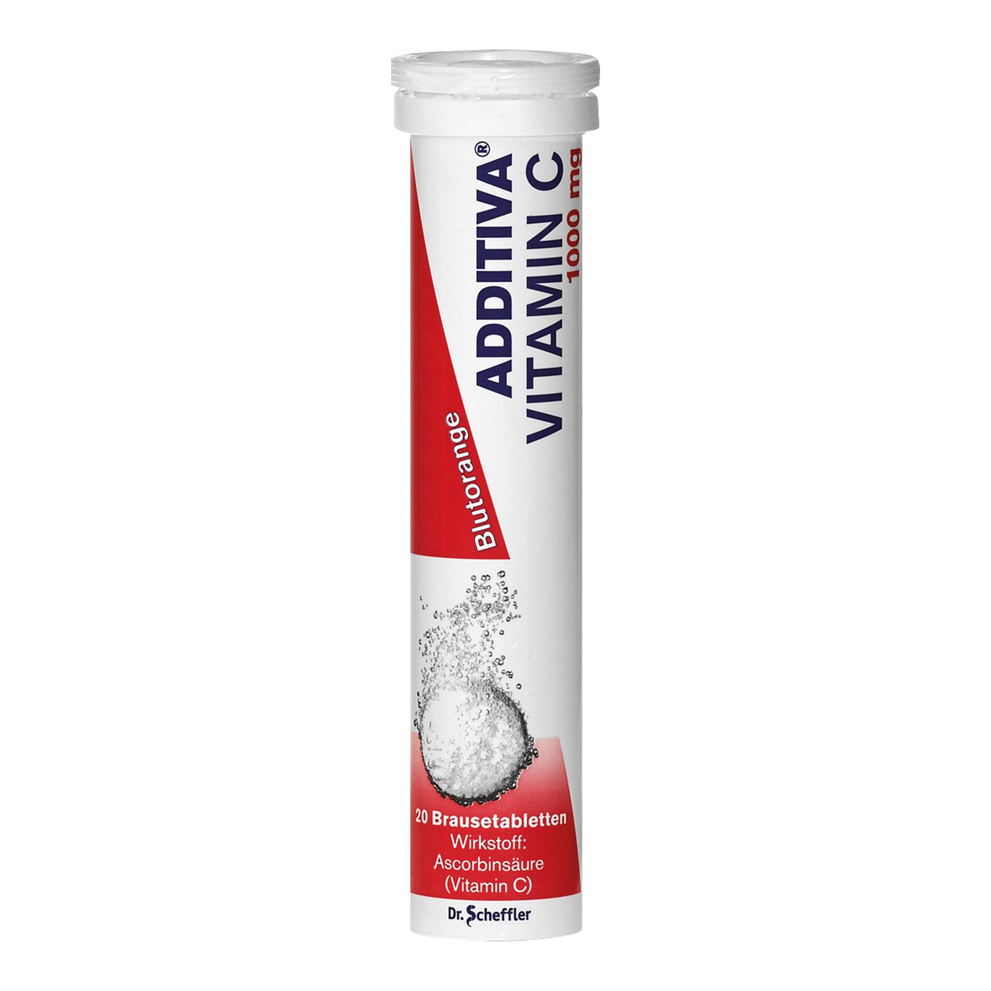Additiva Vitamin C mit Blutorangengeschmack