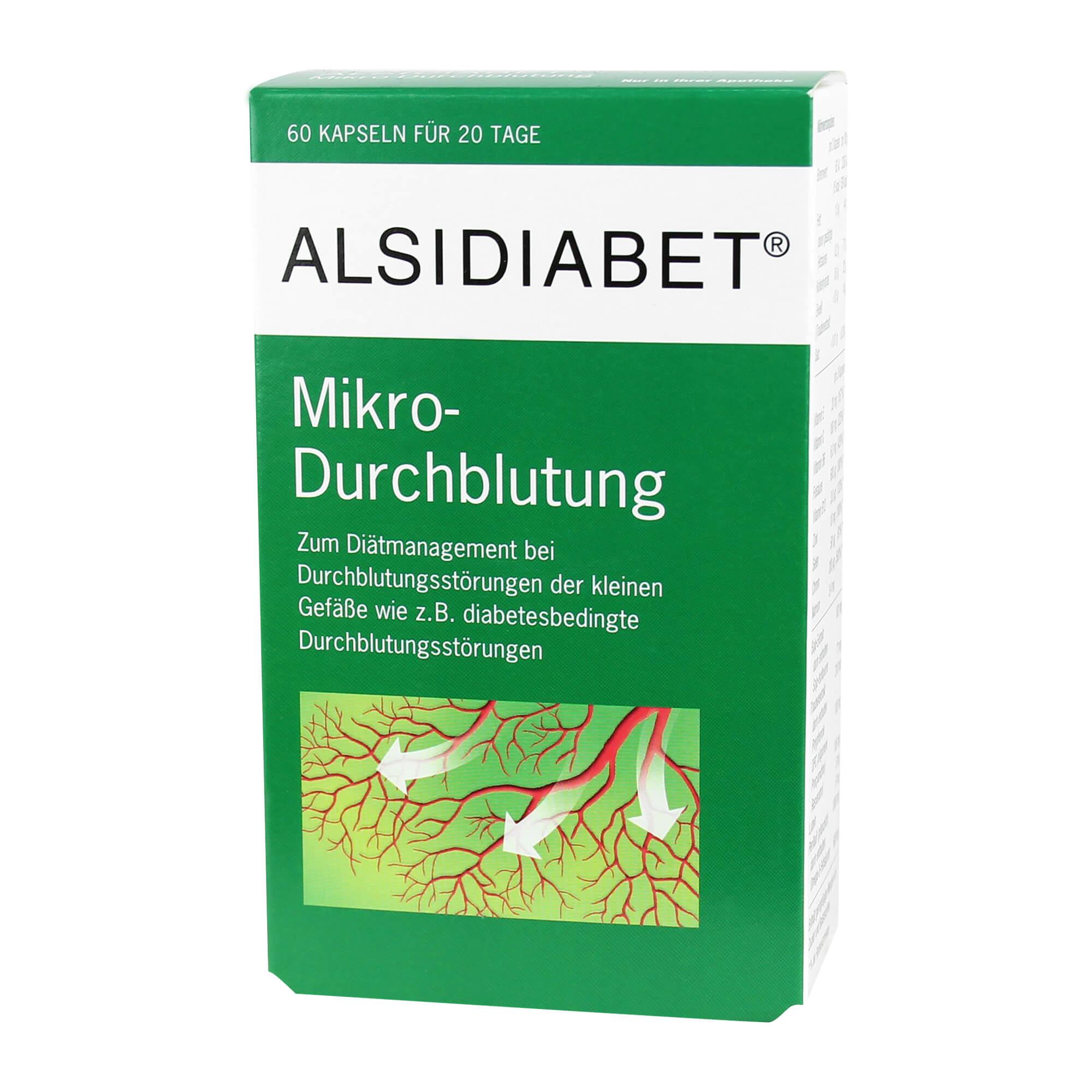 Alsidiabet Mikro-Durchblutung