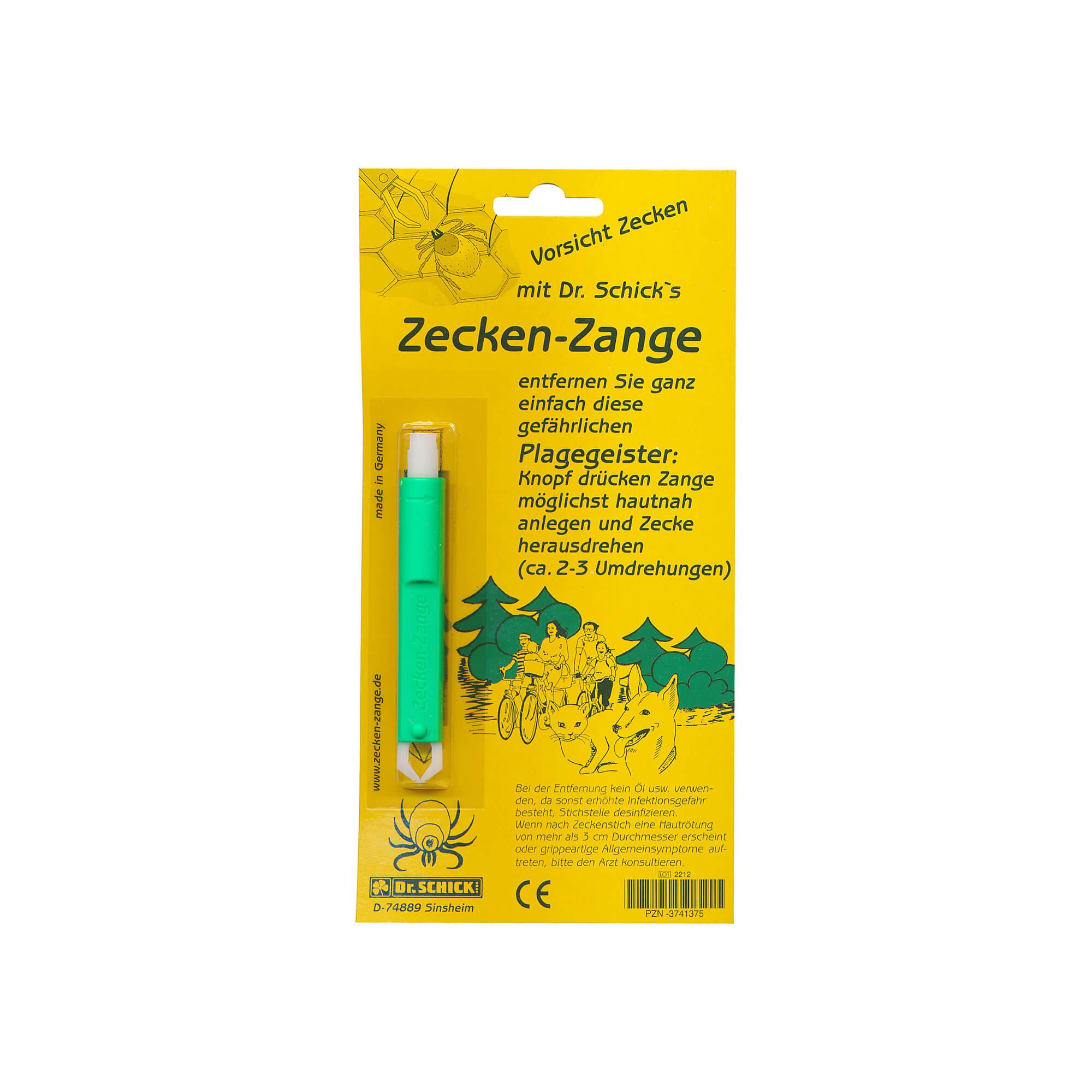 Zecken Zange