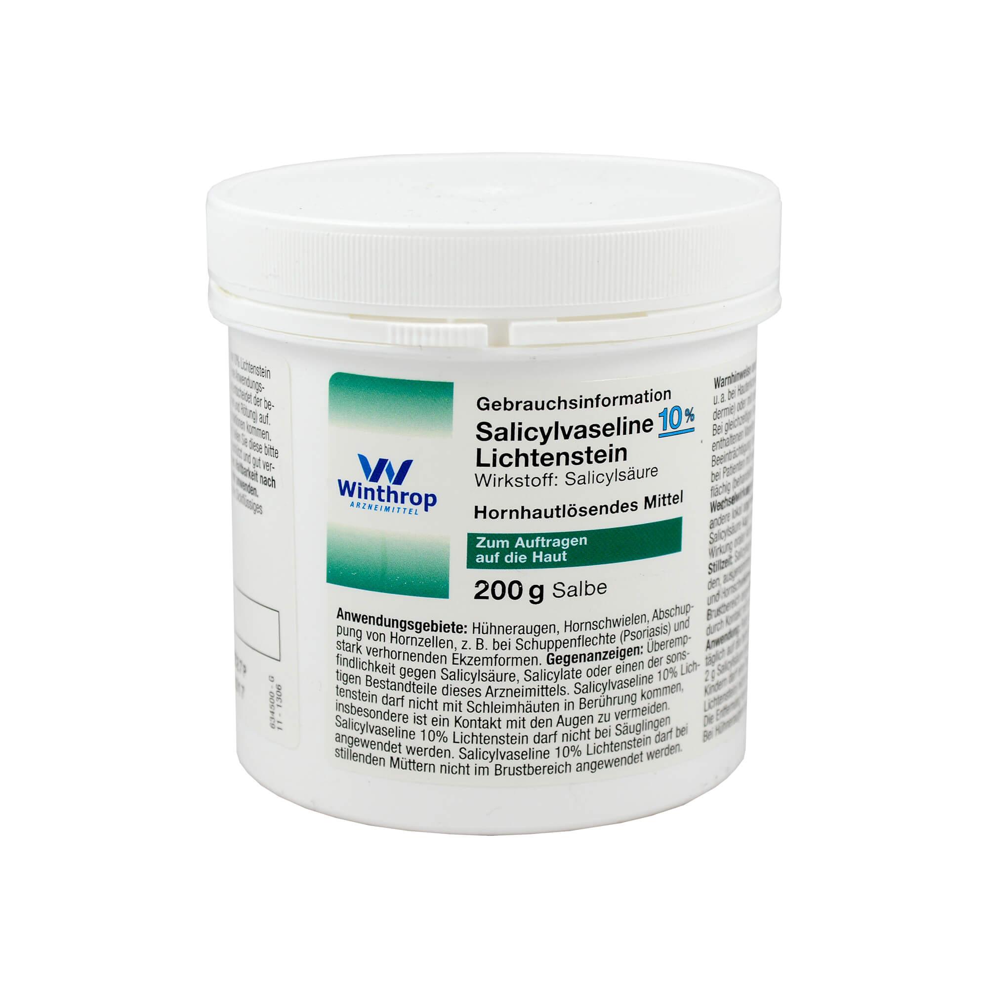 Salicylsäurevaseline Lichtenstein 10%