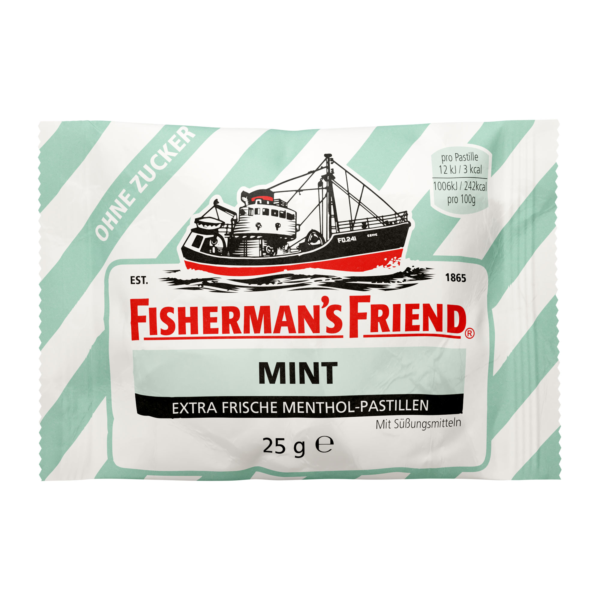 Fishermans Friend mint Pastillen ohne Zucker