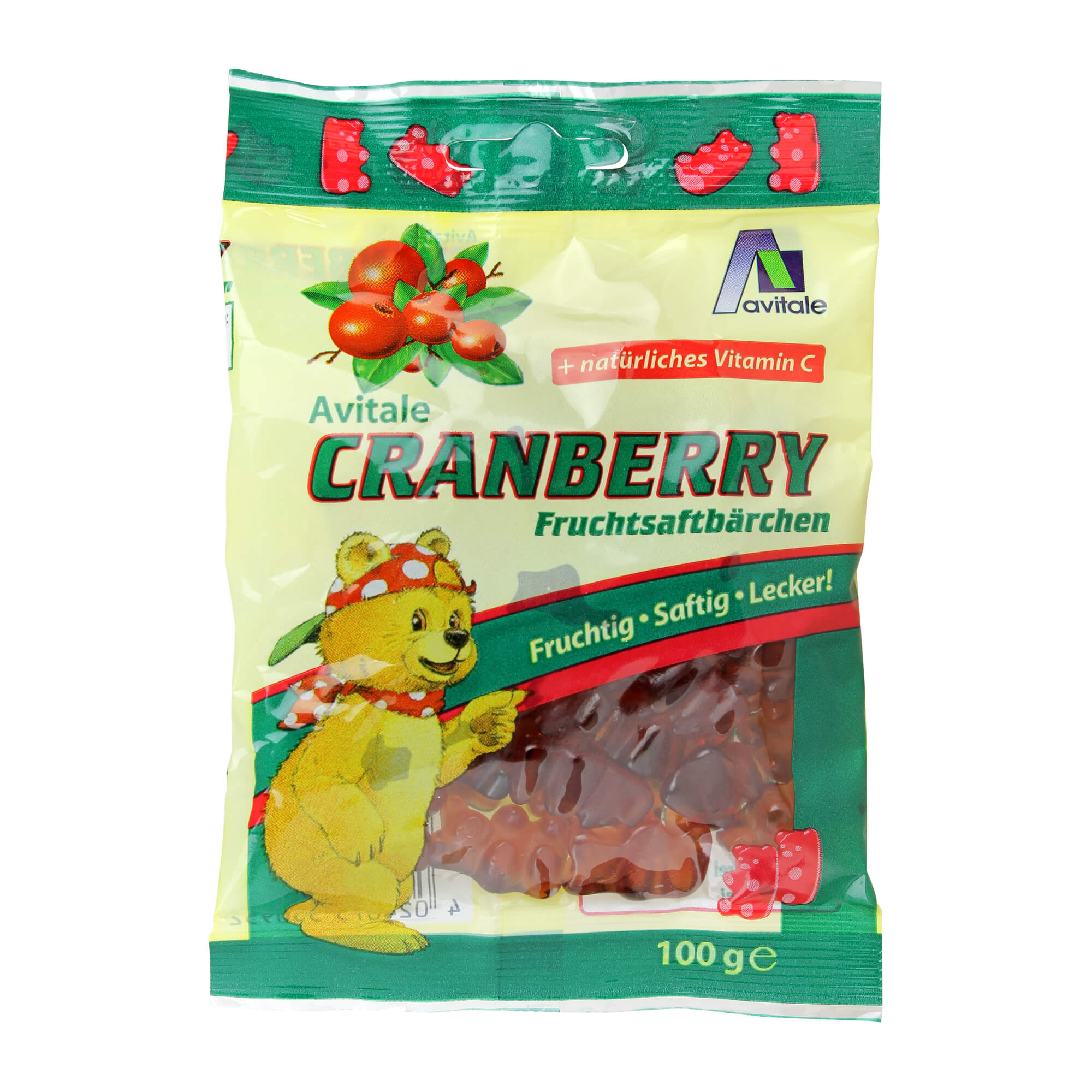 Cranberry Fruchtsaftbären