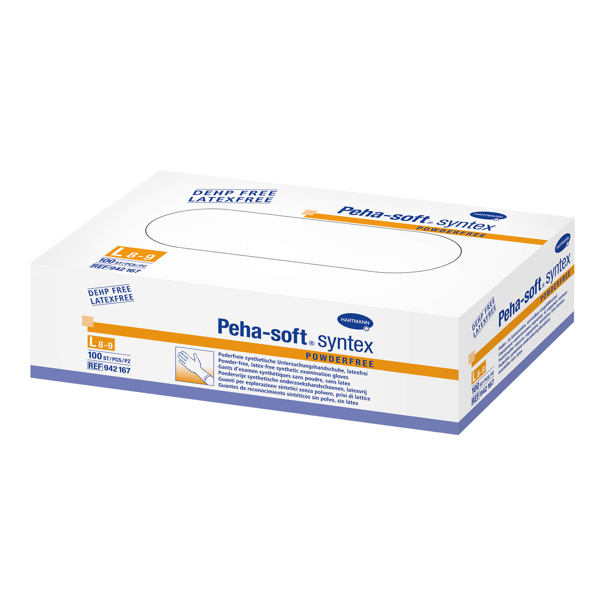 Peha-Soft Syntex Untersuchungshandschuhe L