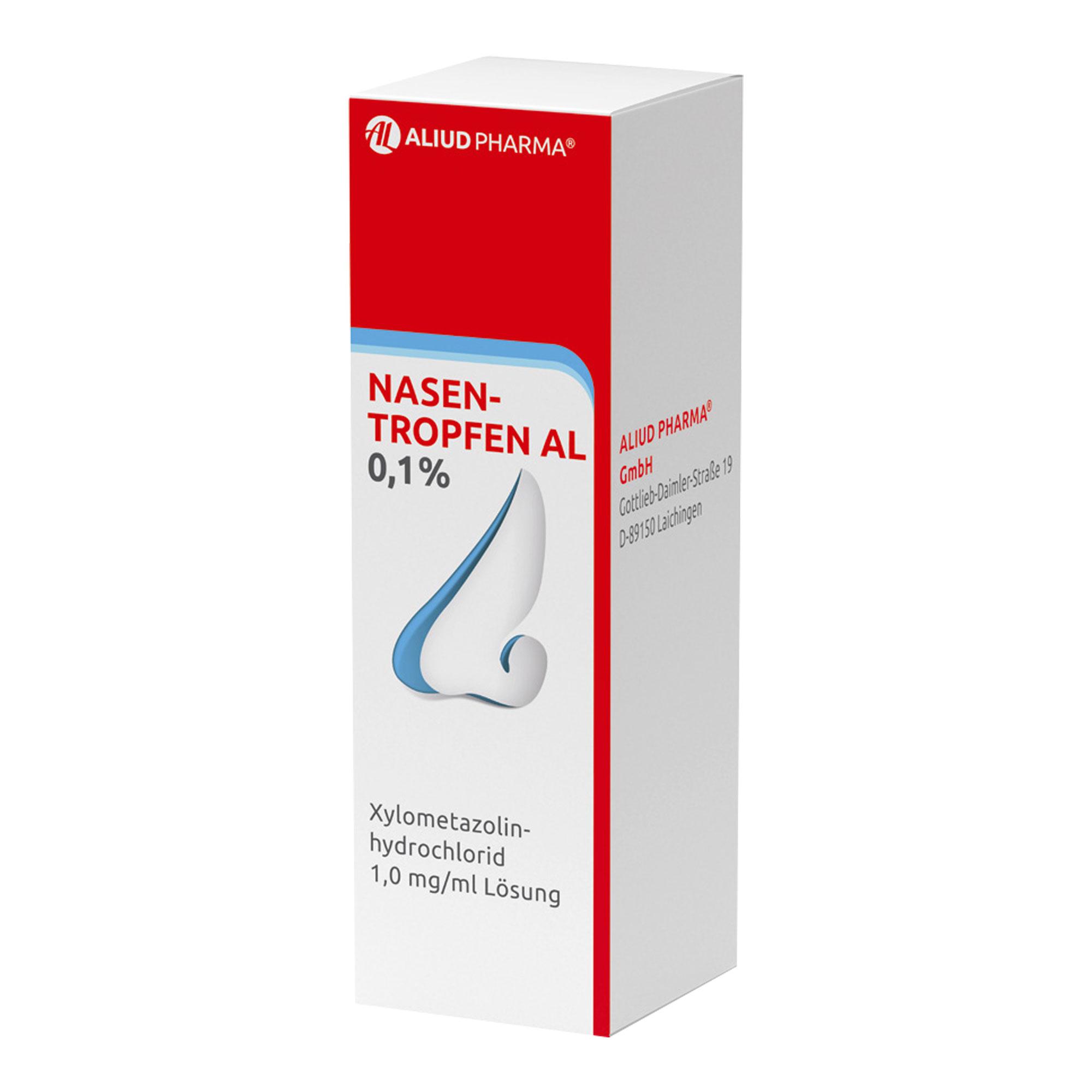 Nasentropfen AL 0,1%