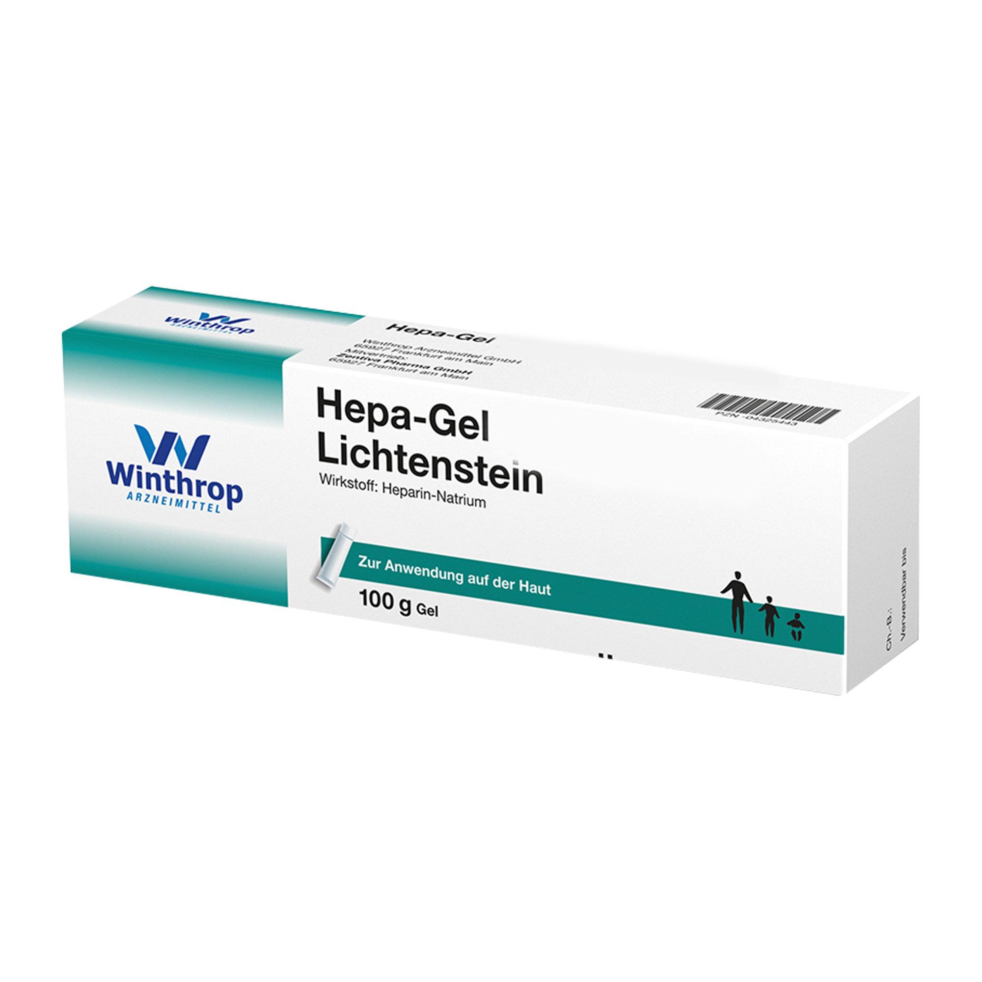 Hepa GEL 30. 000 I.E. Lichtenstein