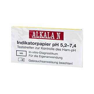 Alkala N pH Indikatorpapier