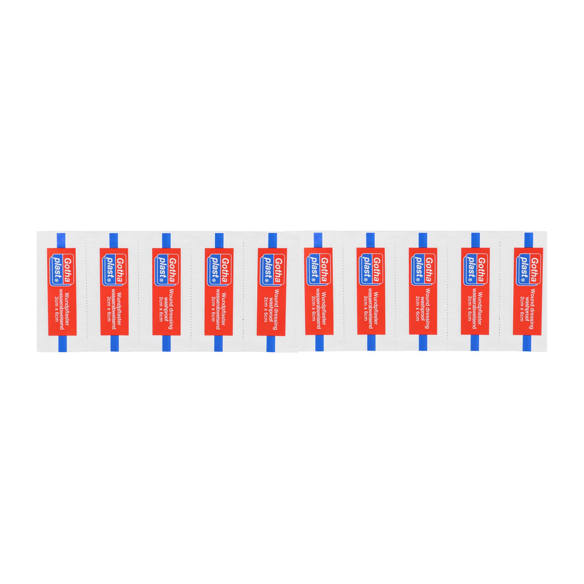 Gothaplast Wundpflaster wasserfest 2x6 cm