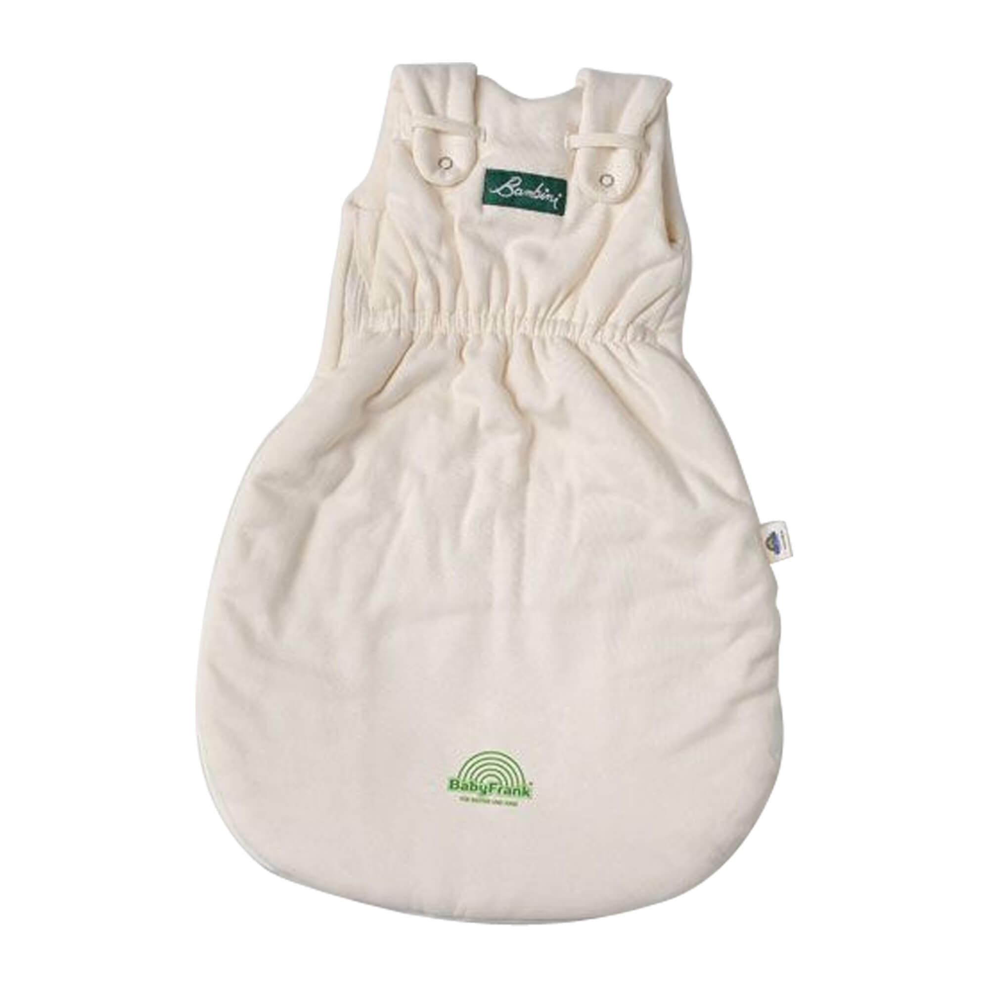 Schlafsack Bambini mitwachsend mit Frotteefutter