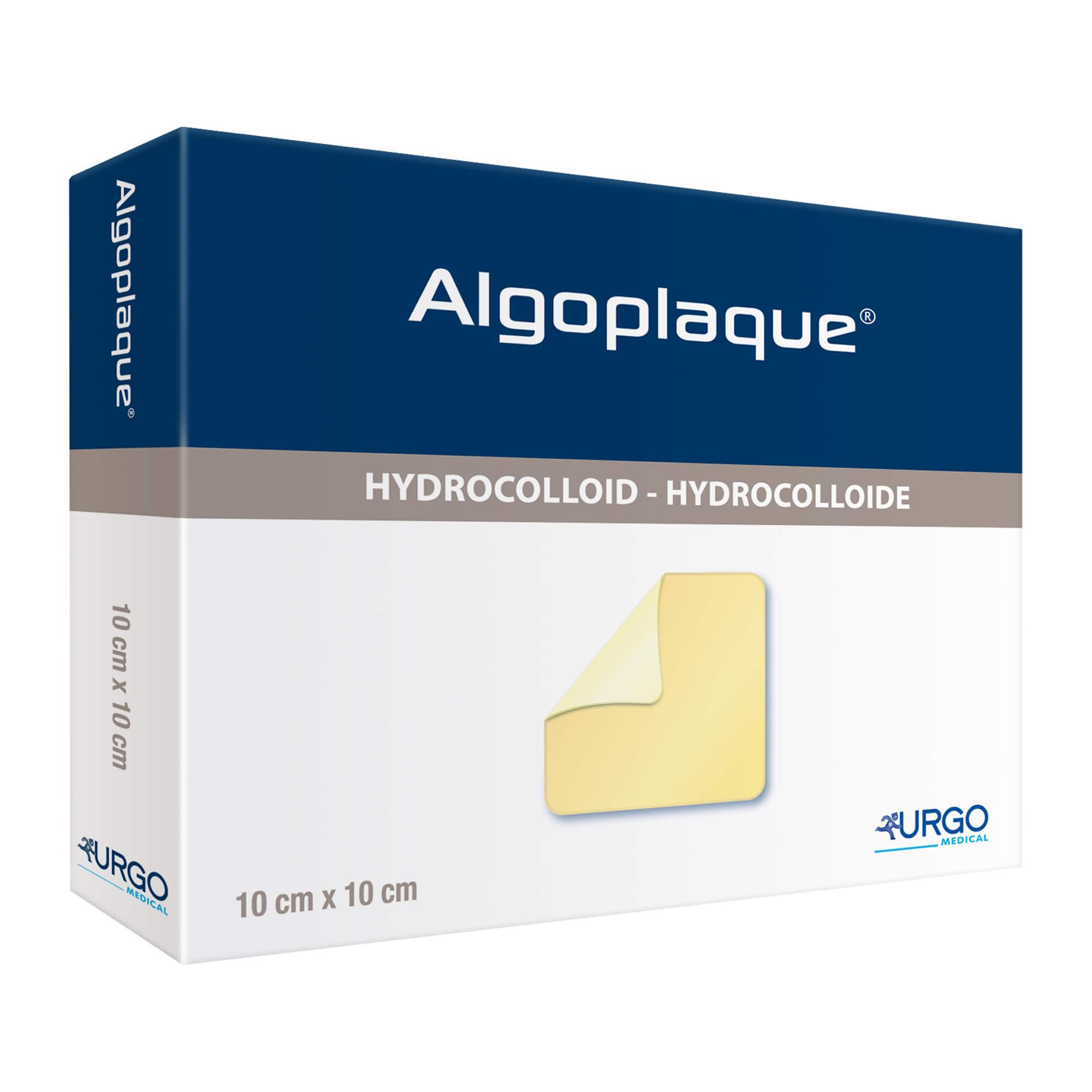 Algoplaque 10x10 cm flexibler Hydrokolloidverband