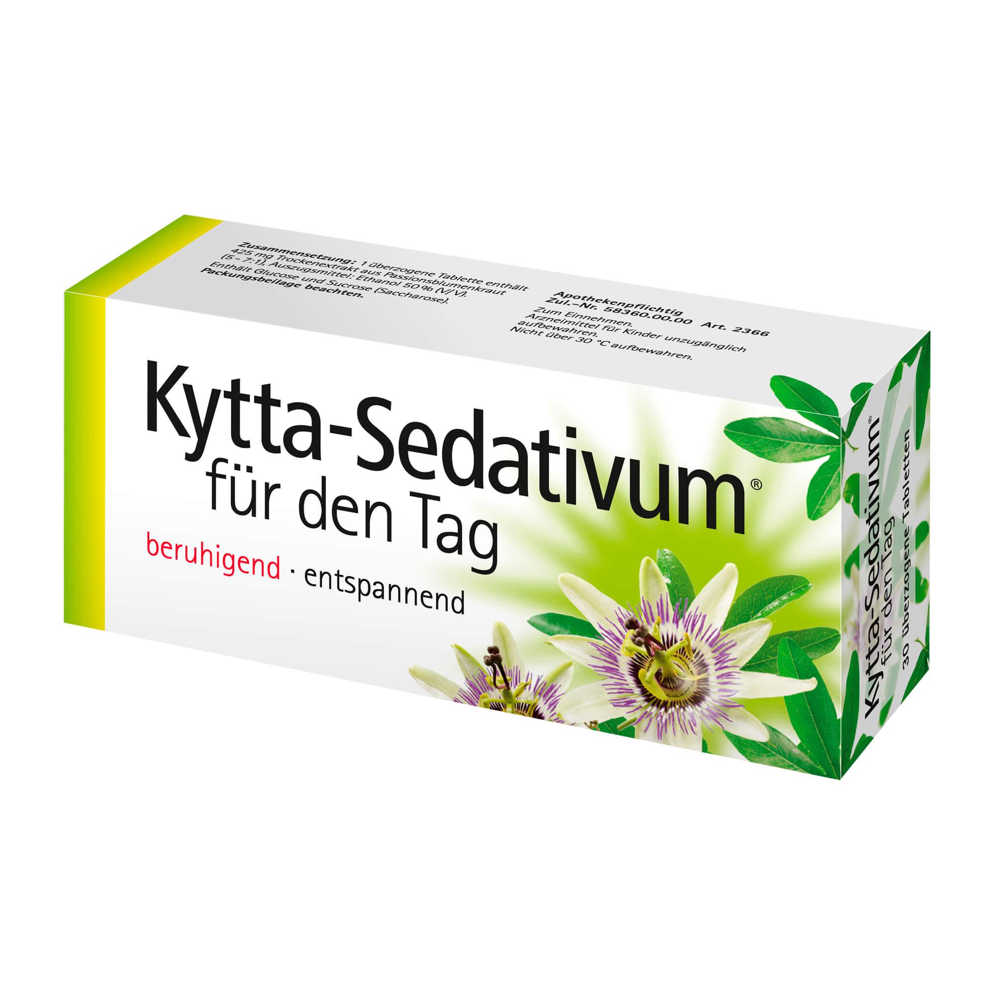 Kytta-Sedativum für den Tag