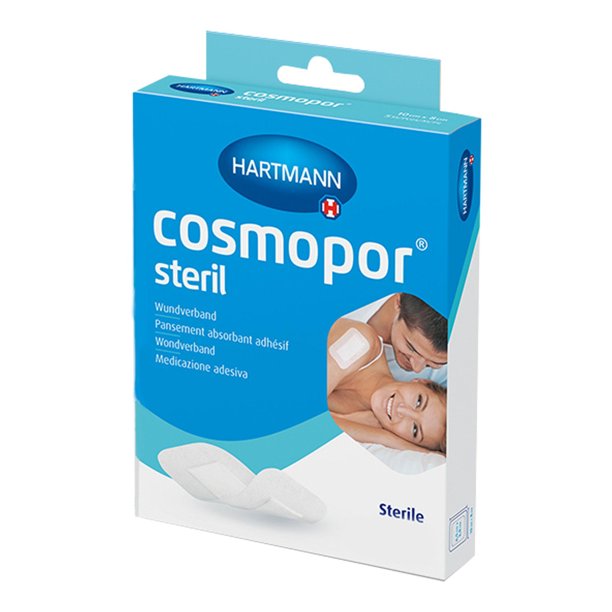 Cosmopor steril 8x10 cm