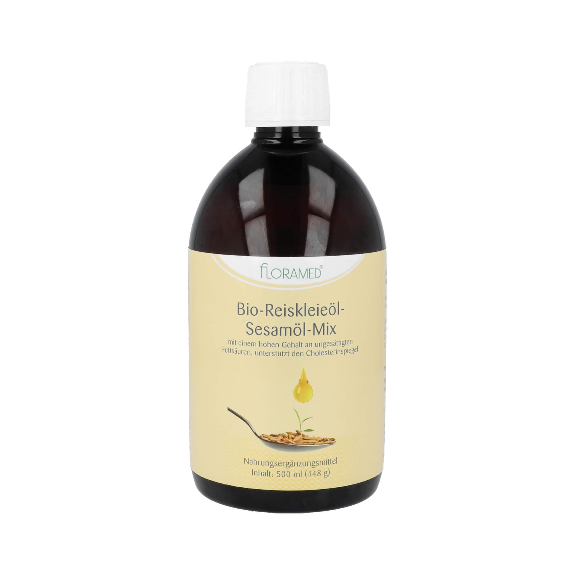 Floramed Bio Reiskleieöl-Sesamöl-Mix