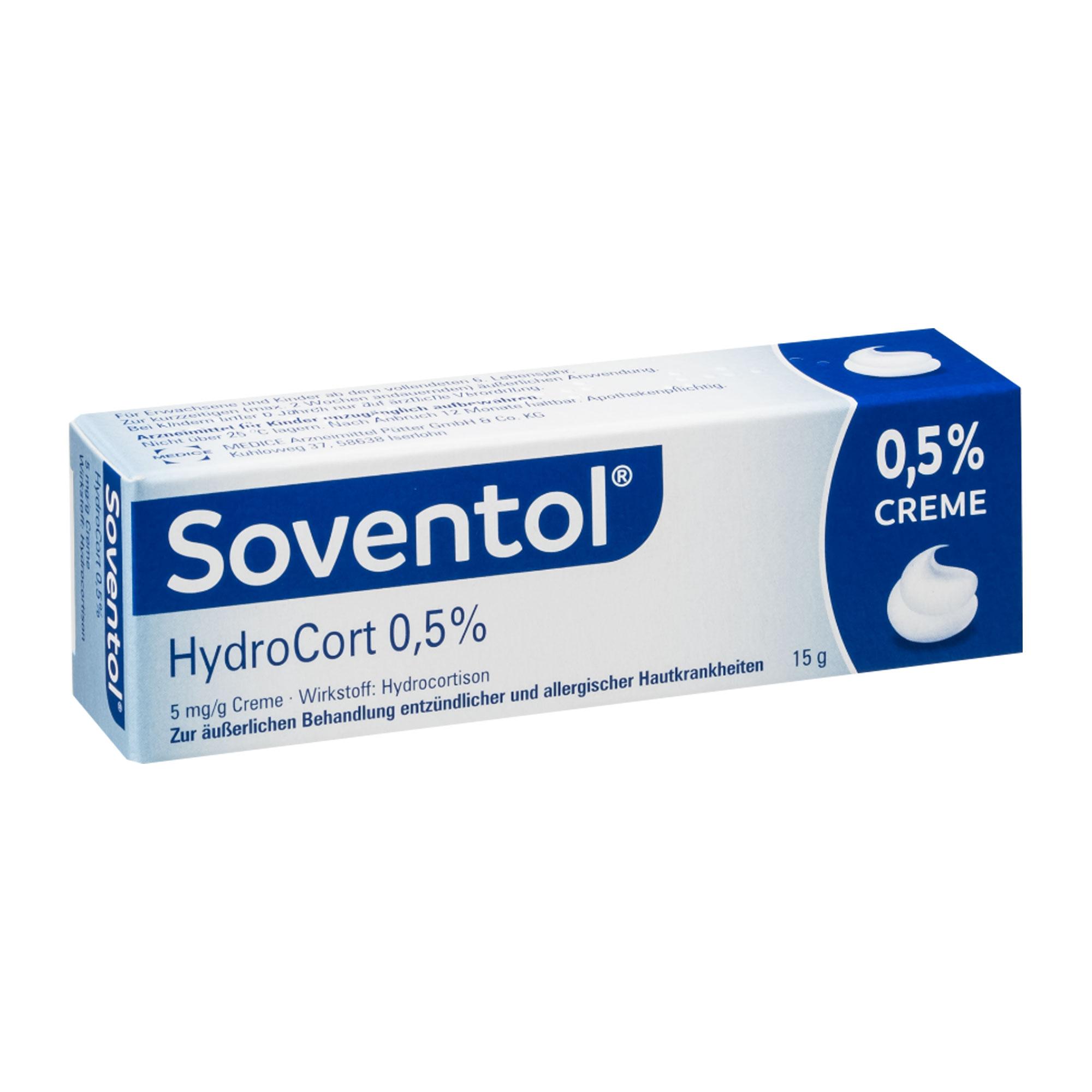 Soventol Hydrocort 0,5% Creme