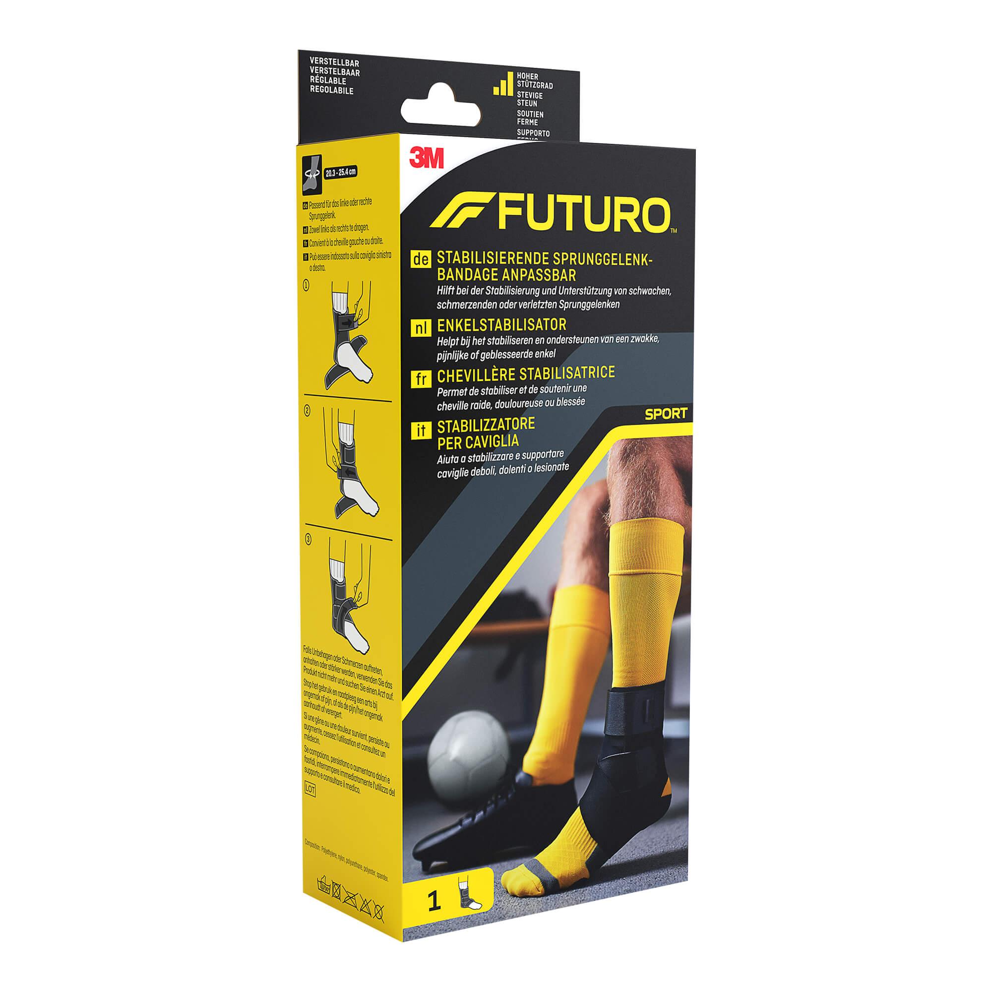 Futuro Sport Sprunggelenk-Bandage Alle Größen