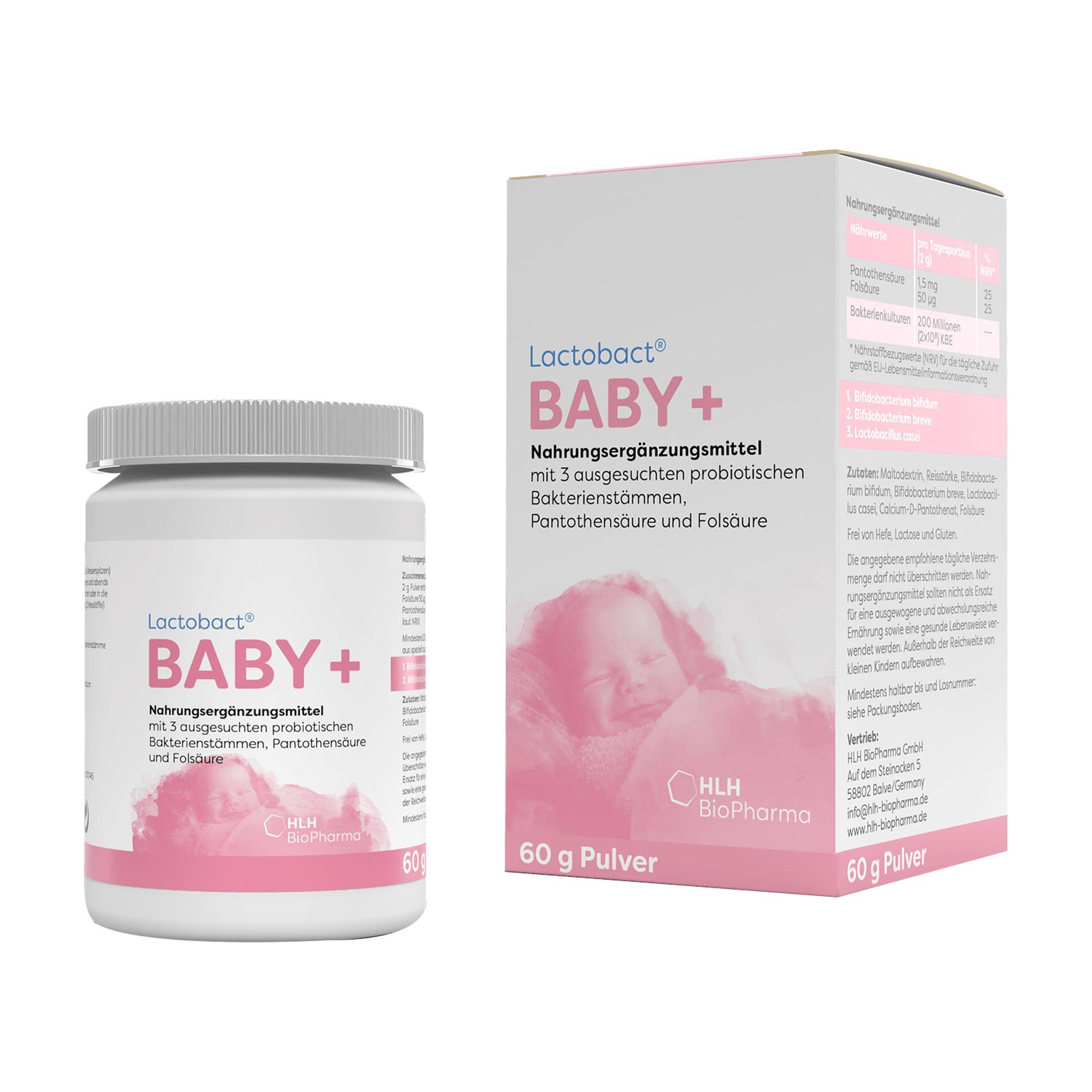 Lactobact Baby Monatspackung