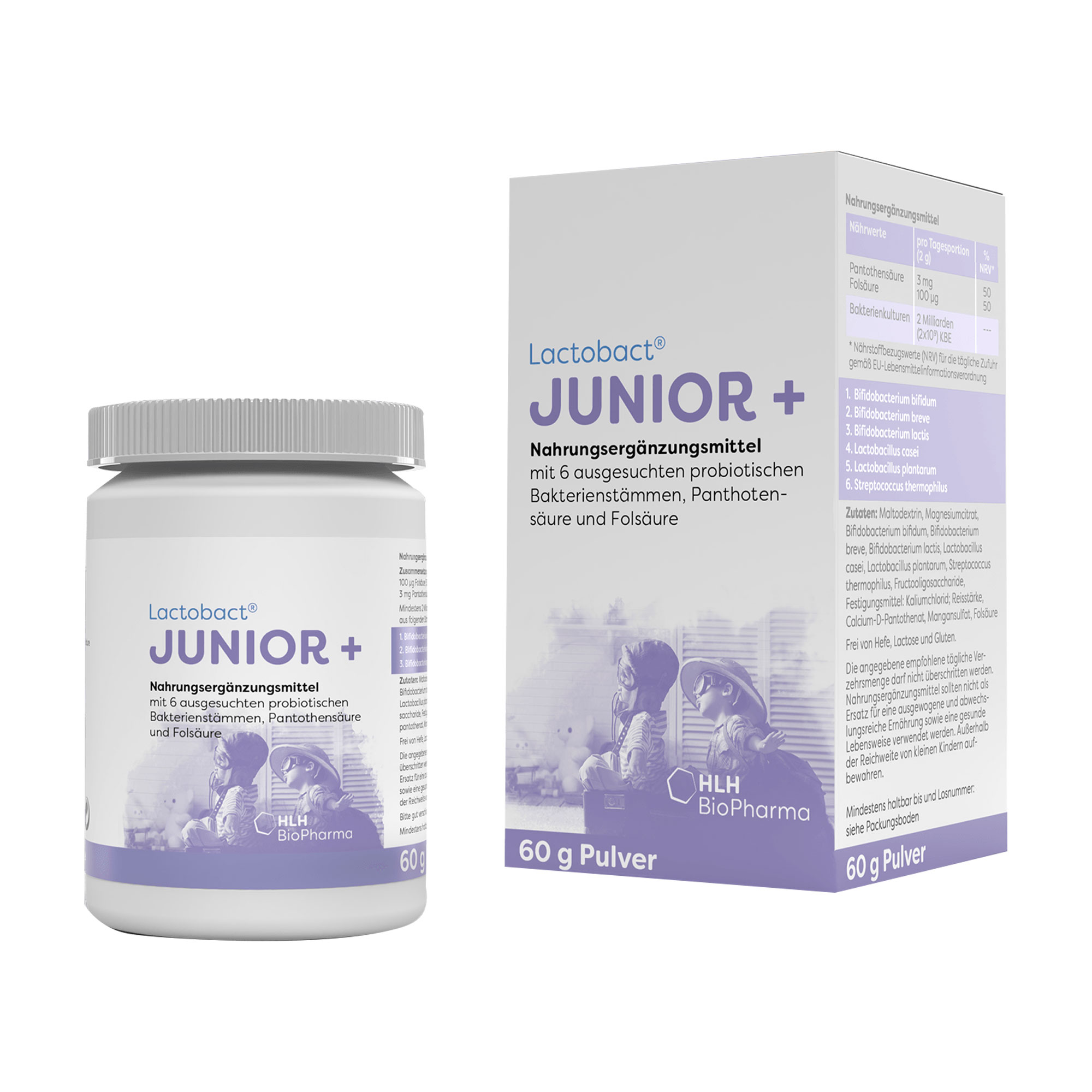 Lactobact Junior+ Monatspackung