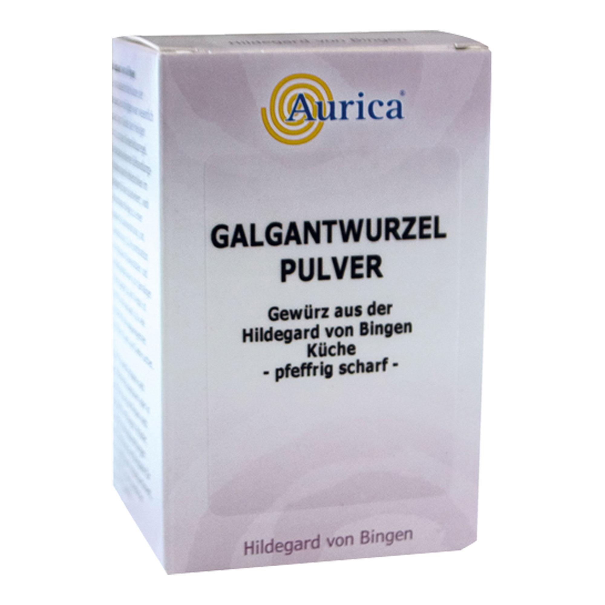 Galgantwurzel-Pulver Aurica