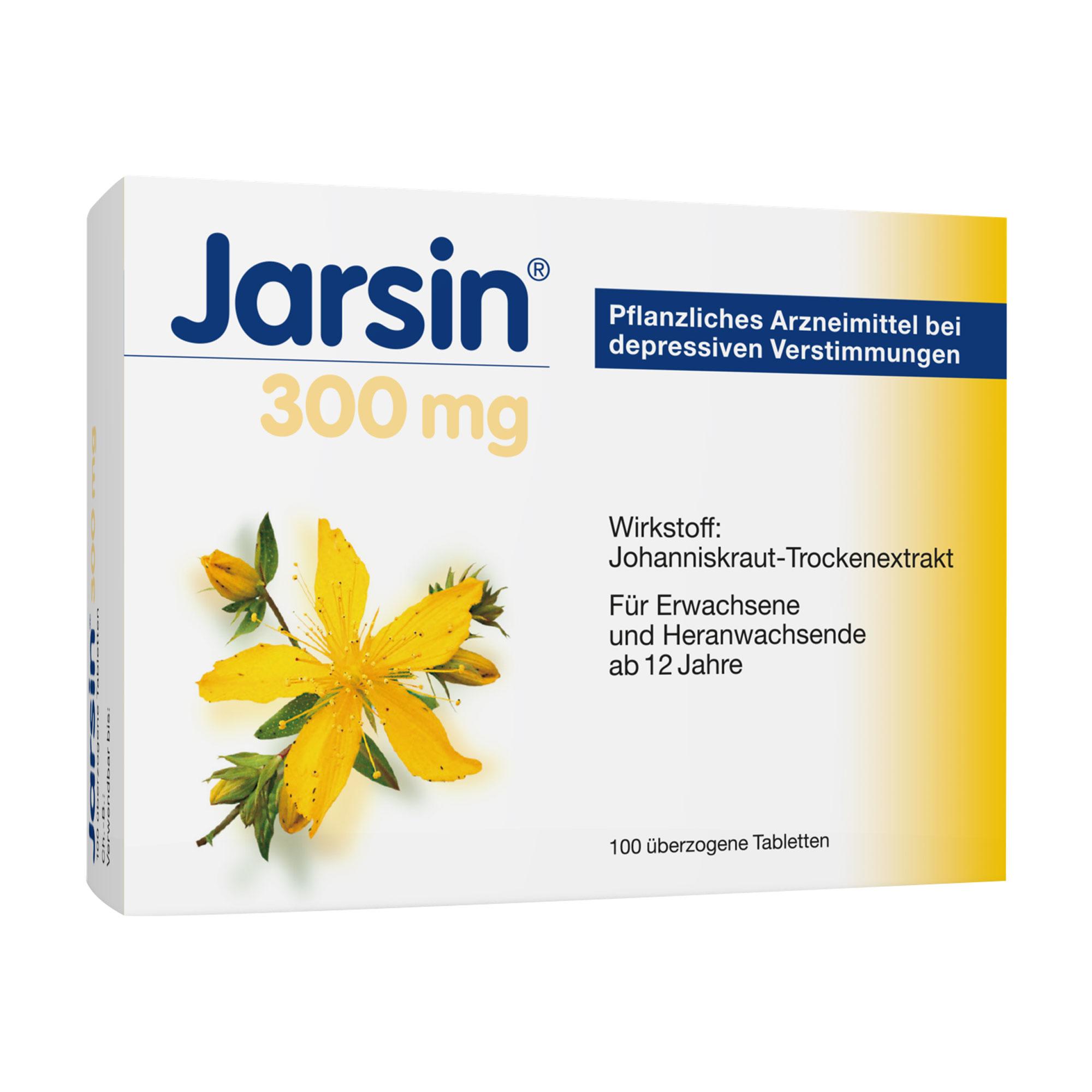 Jarsin 300 mg überzogene Tabletten