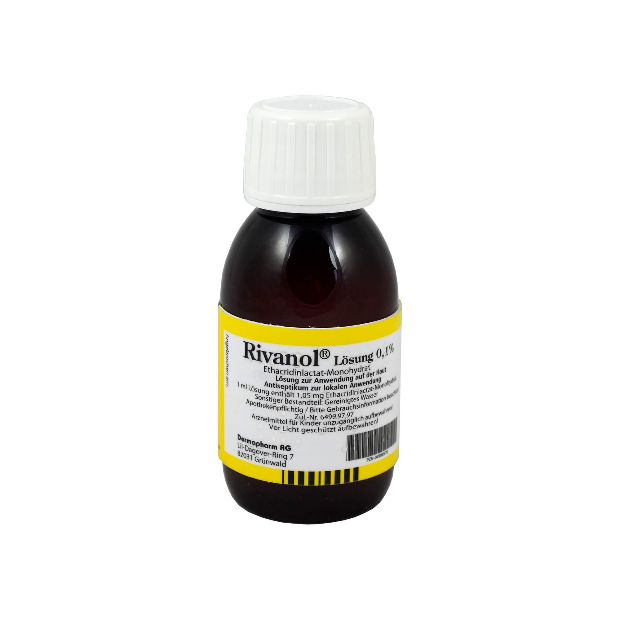 Rivanol Lösung 0,1 %