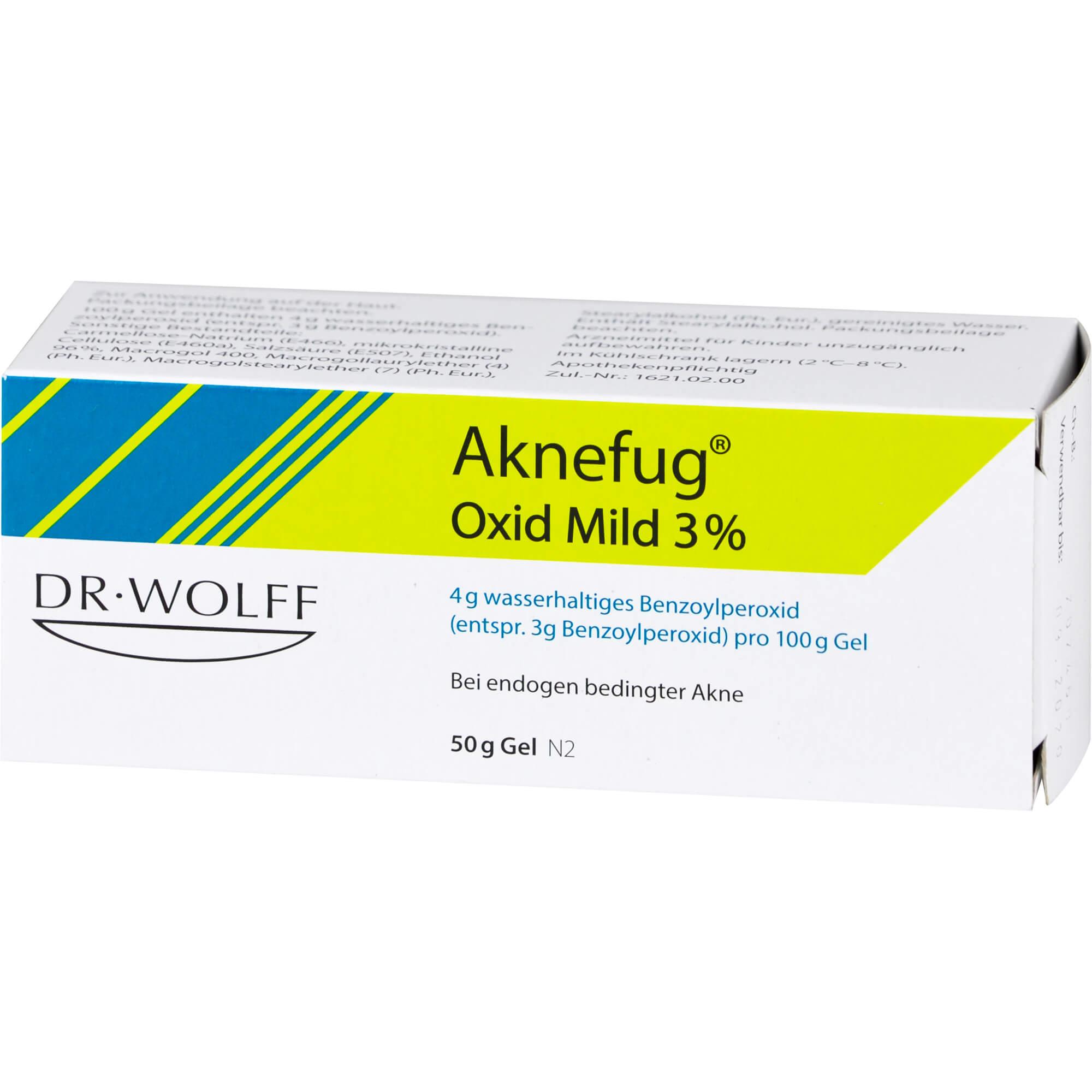 AKNEFUG-OXID MILD 3%
