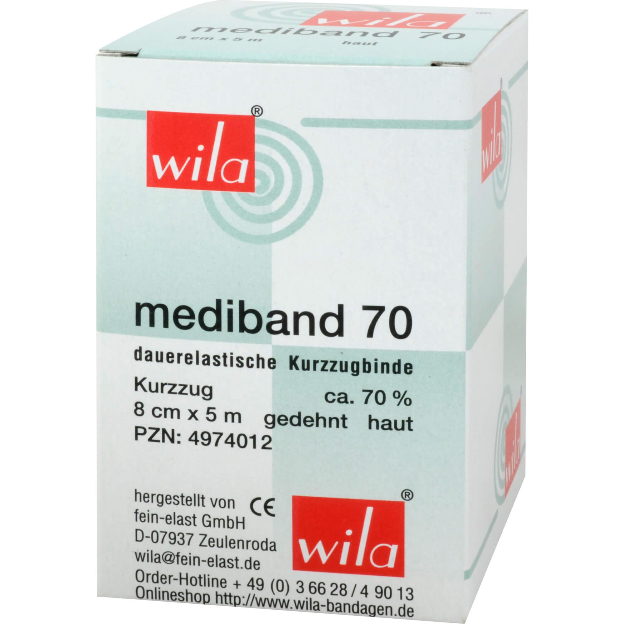MEDIBAND 70KURZZ 5MX8CM H