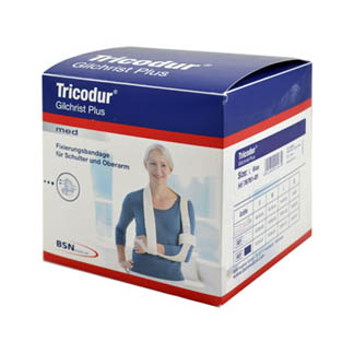 Tricodur Gilchrist Plus Bandage Größe L Blau